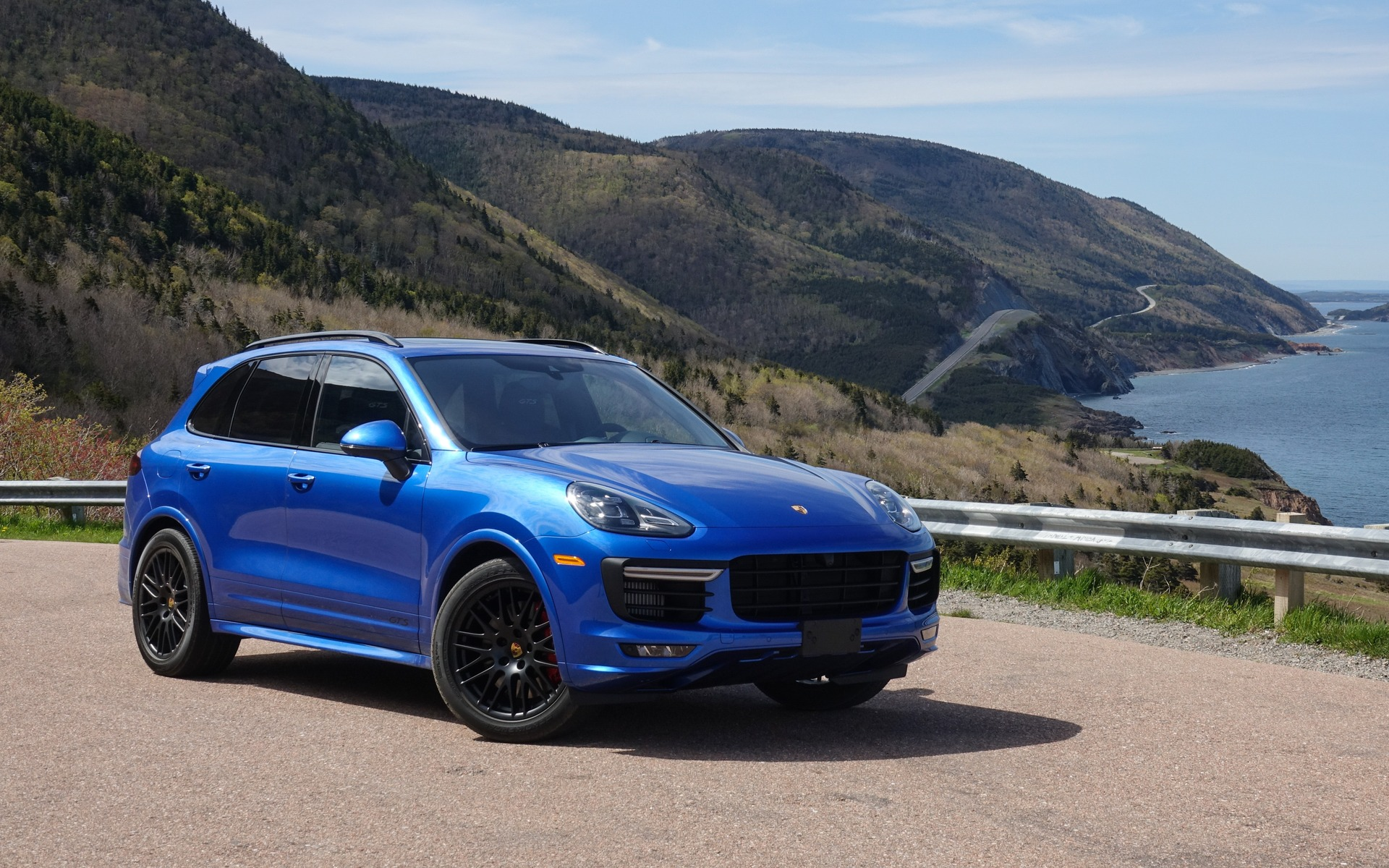 Porsche Cayenne Gts And Macan Turbo On The Cabot Trail The Car Guide