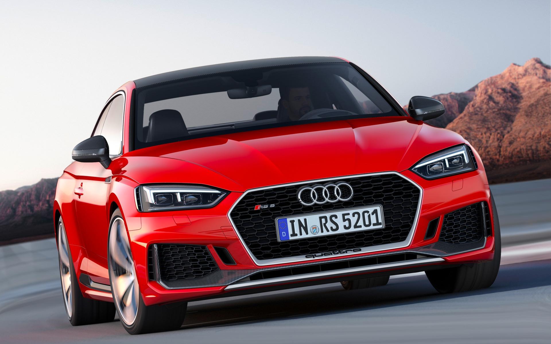 Audi RS 52018 - À l'essai cette semaine à Toulouse en France.