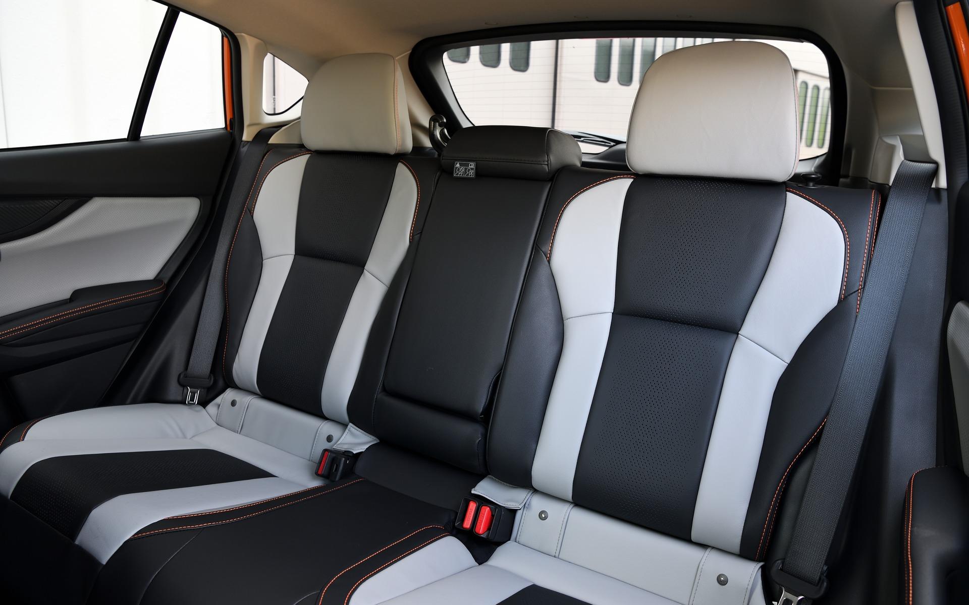 <p>Subaru Crosstrek 2018 - Places arri&egrave;re de la version Limited.</p>