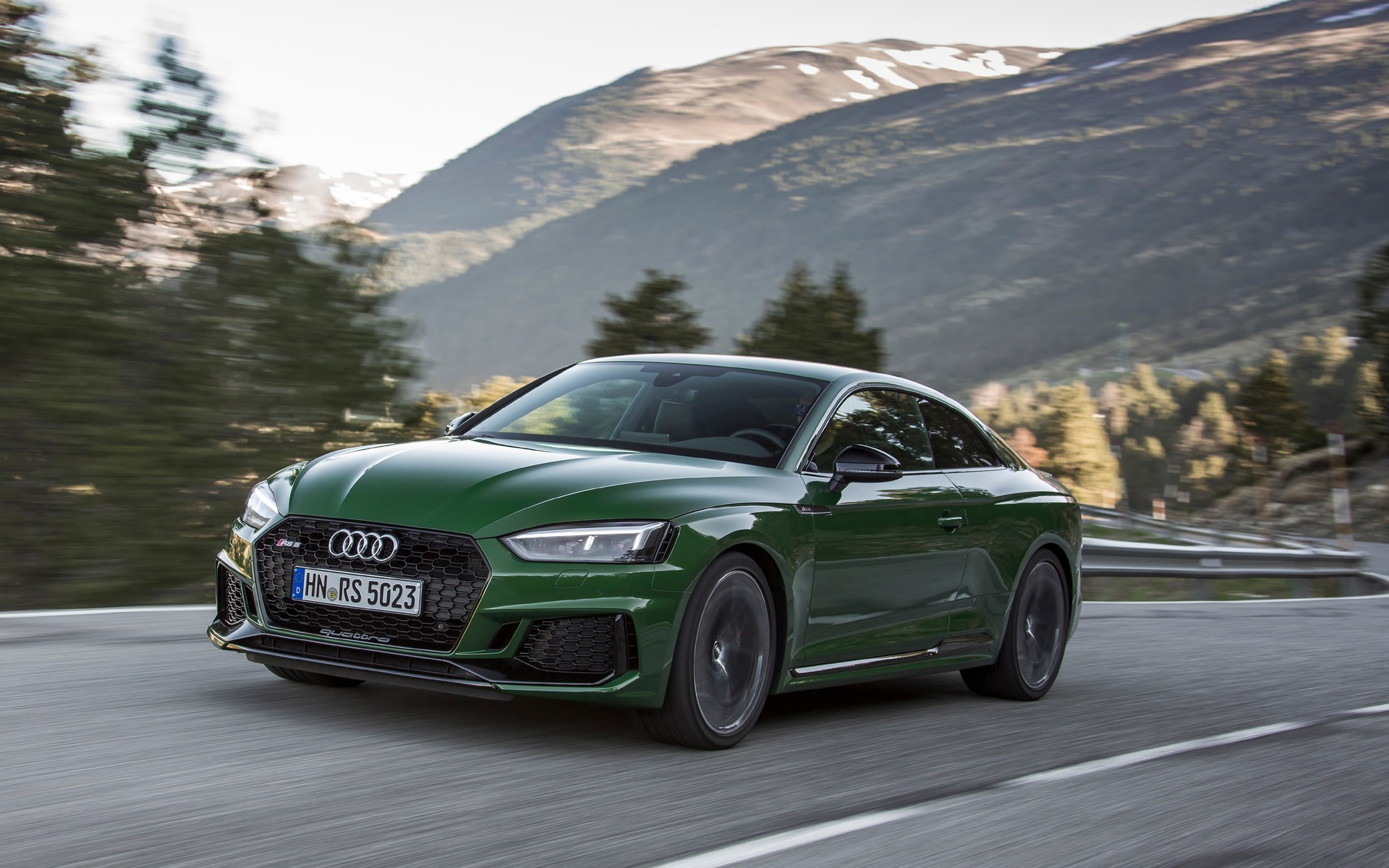 Captivating Test Drives · 2018 Audi RS 5: Two Less Cylinders, Two More Turbos