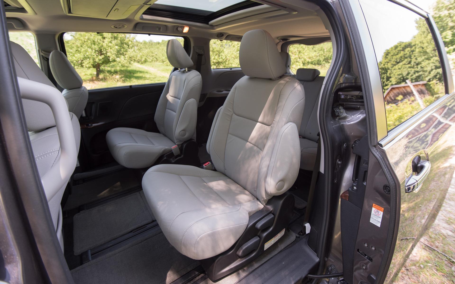 <p>#4. Toyota Sienna | 298,8 points | 49&nbsp;700$</p>