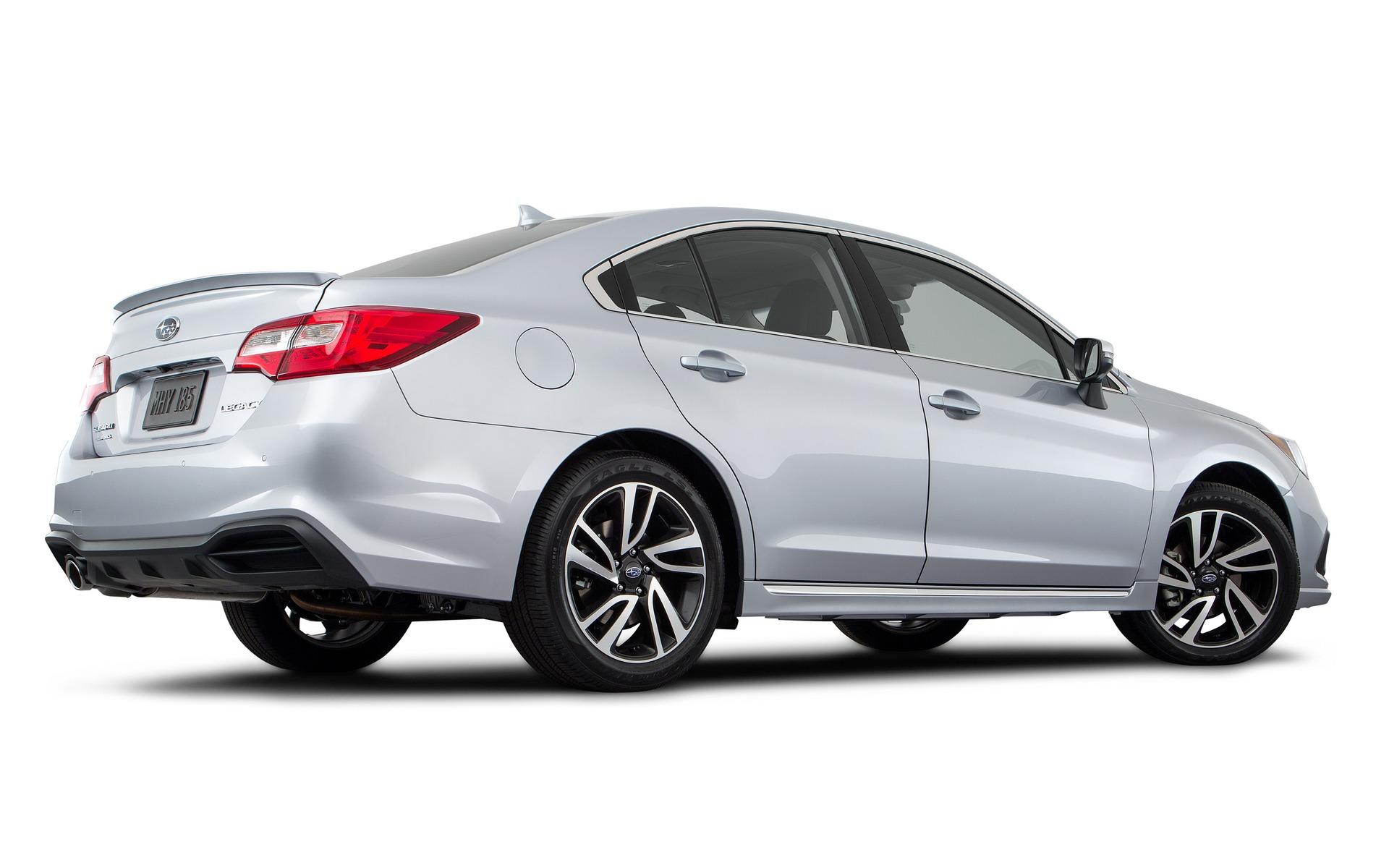 Improvements for the 2018 Subaru Legacy - 11/29