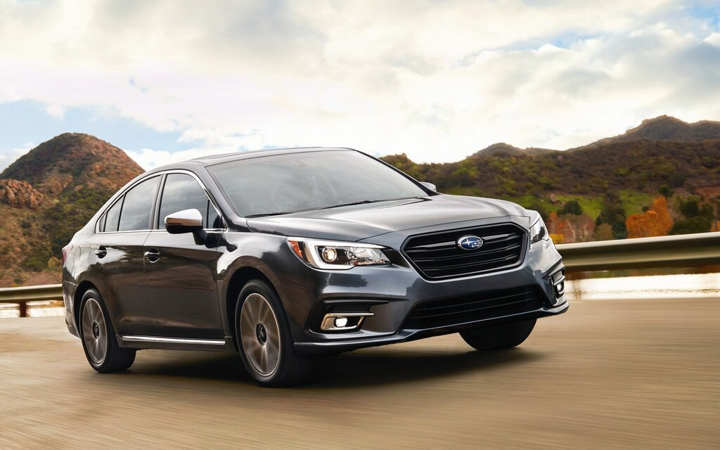 Improvements For The 2018 Subaru Legacy The Car Guide