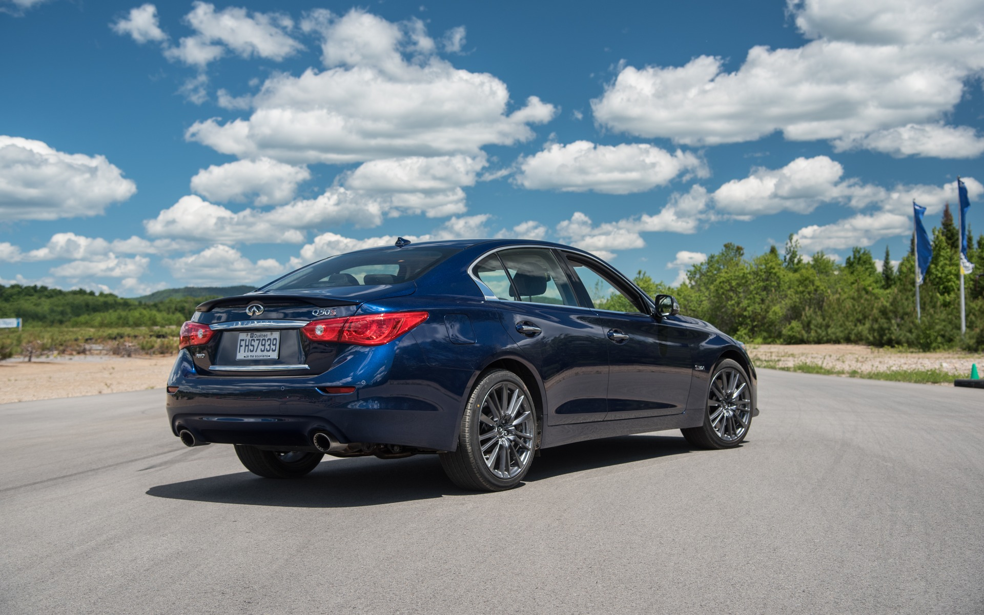 <p>#4: InfinitiQ50 Red Sport | 278.6POINTS | 58 825$</p>
