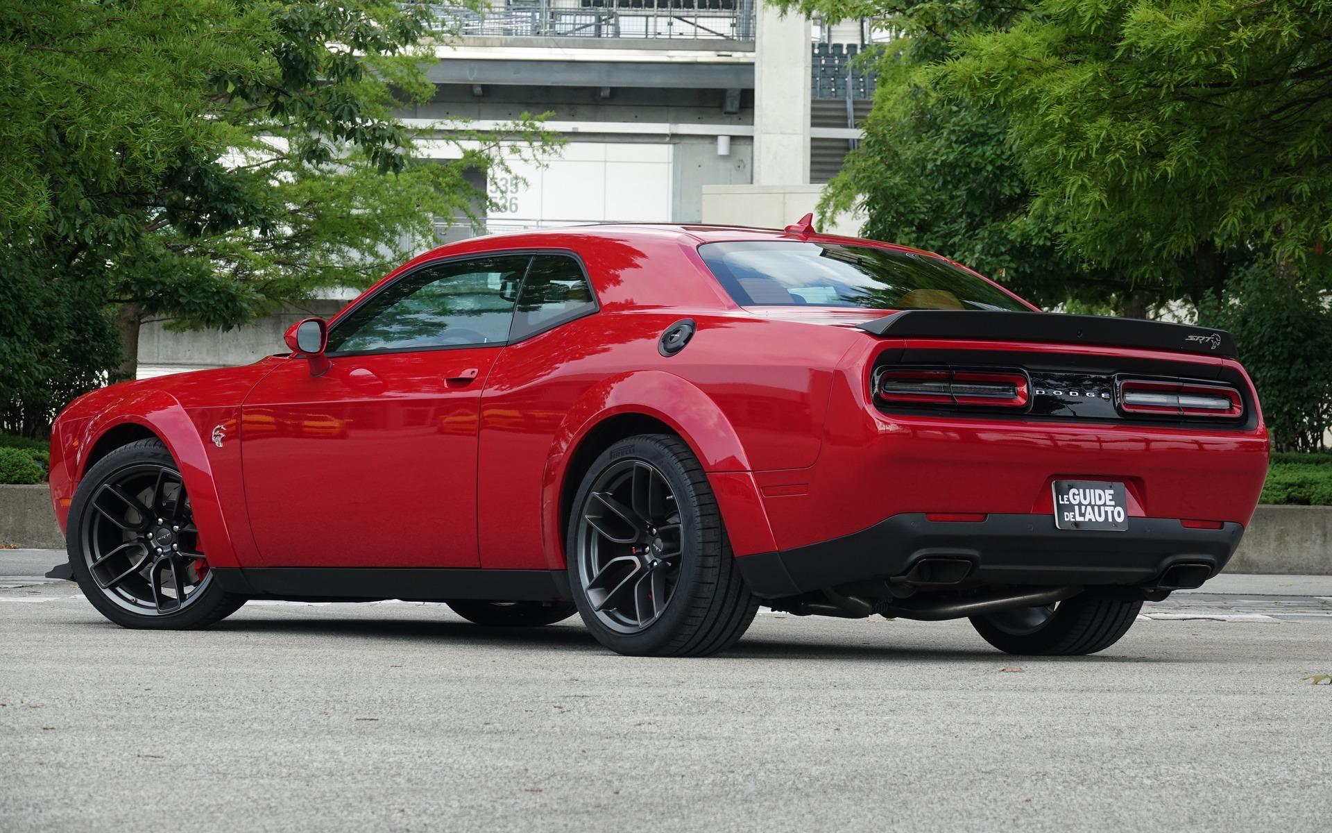 2018 Dodge Challenger Srt Hellcat Widebody The Next
