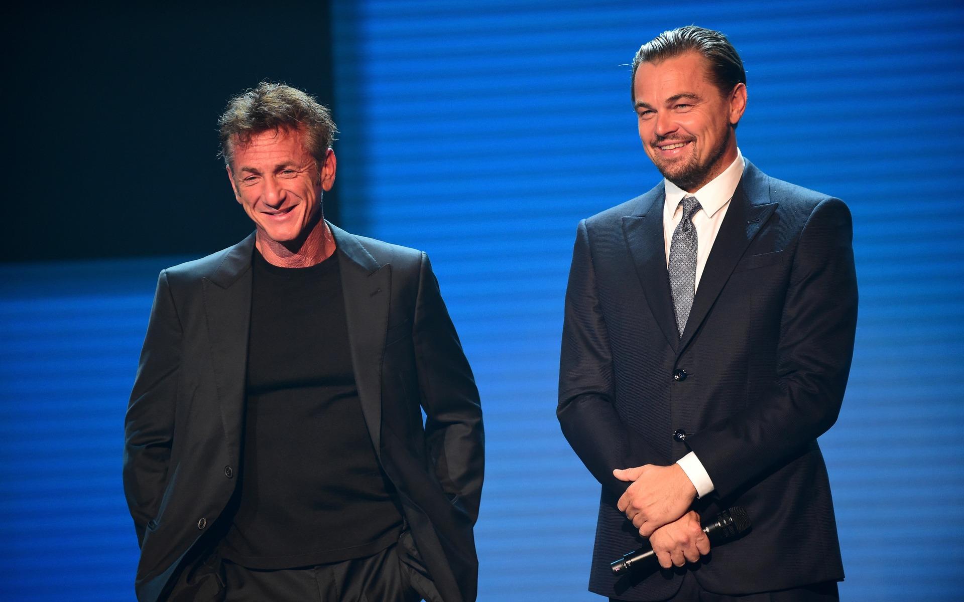 <p>Sean Penn et DiCaprio</p>