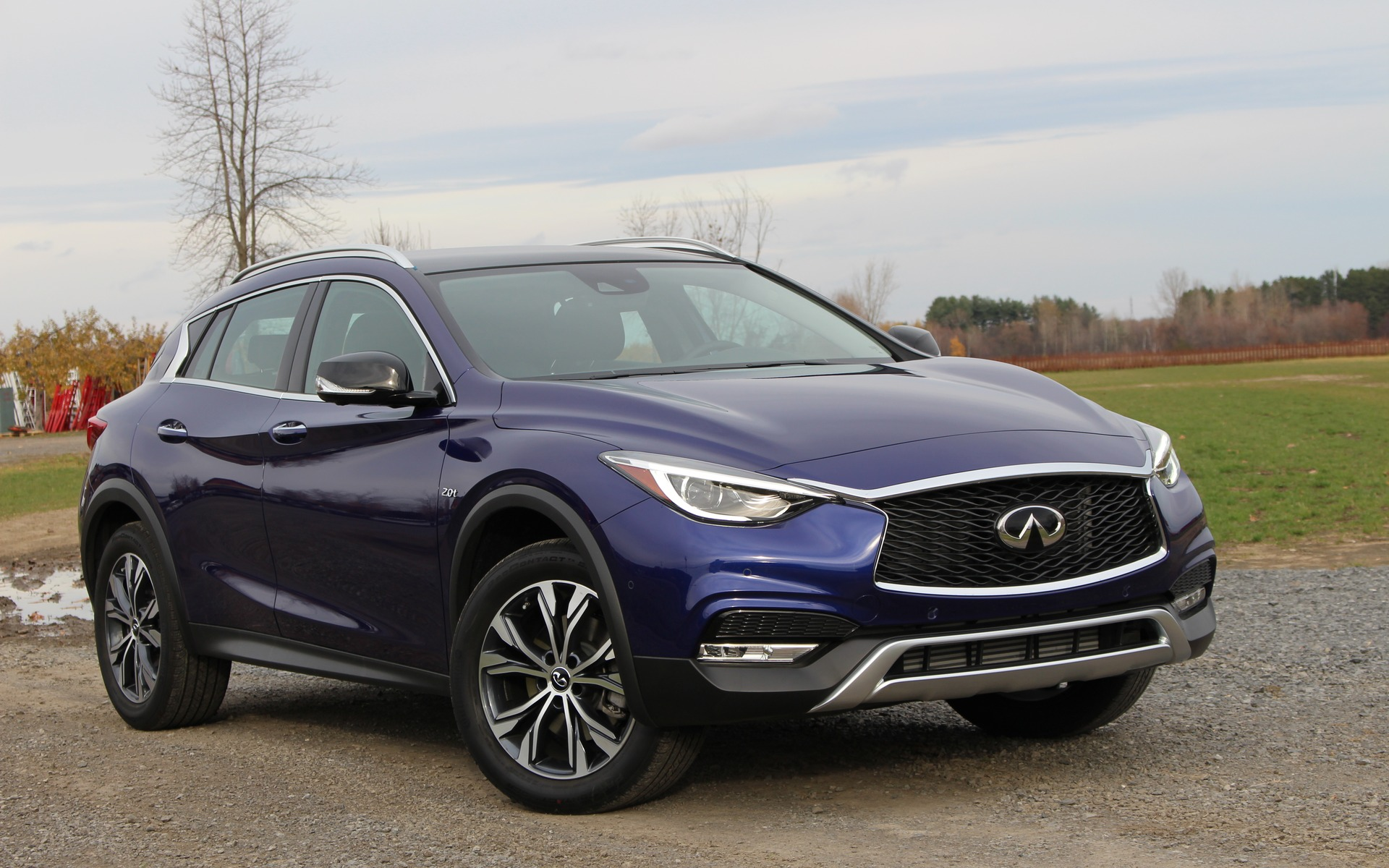 2017 infiniti qx30 sharing the wealth the car guide. Black Bedroom Furniture Sets. Home Design Ideas