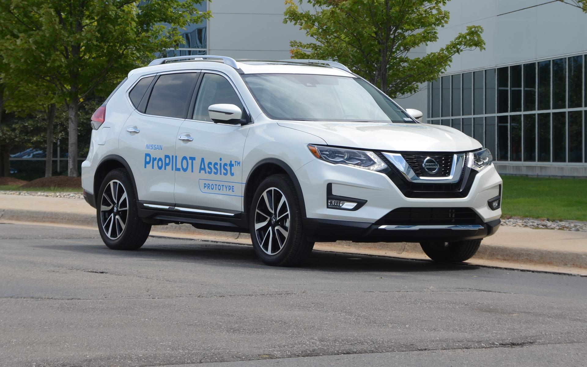 Nissan ProPILOT Assist Following The Semi Autonomous Parade From A Distance