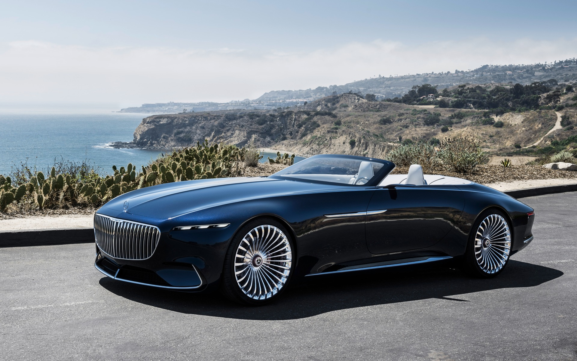 vision mercedes-maybach 6 cabriolet: breathtaking! - the car guide
