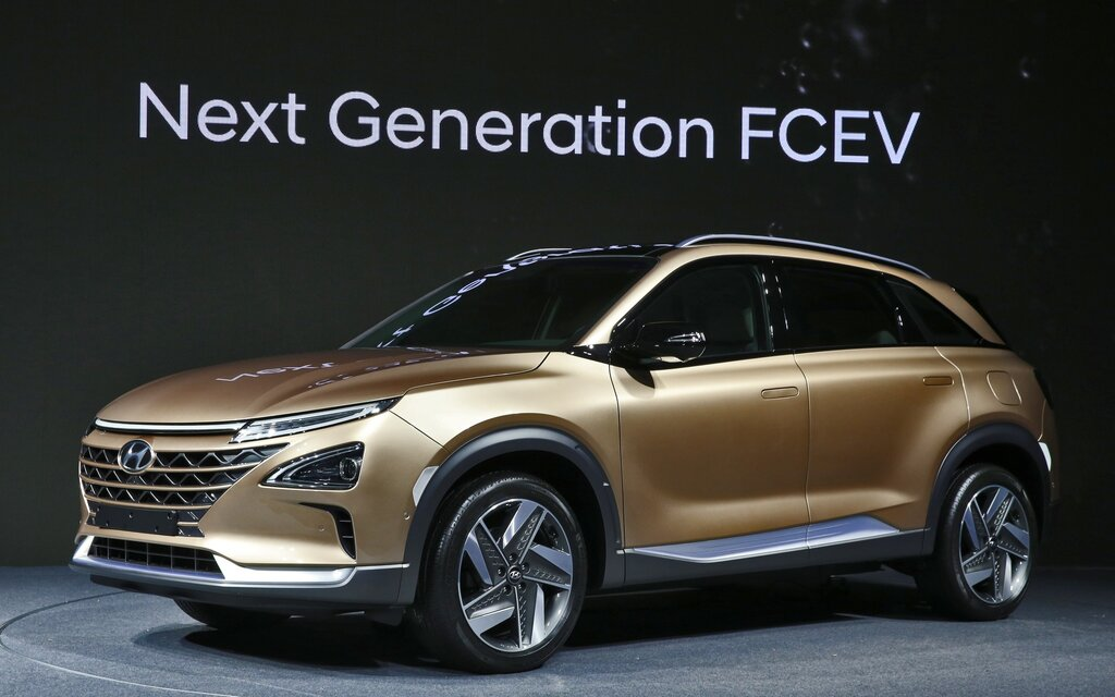 Hyundai Unveils its Next-generation, Hydrogen-powered SUV ...