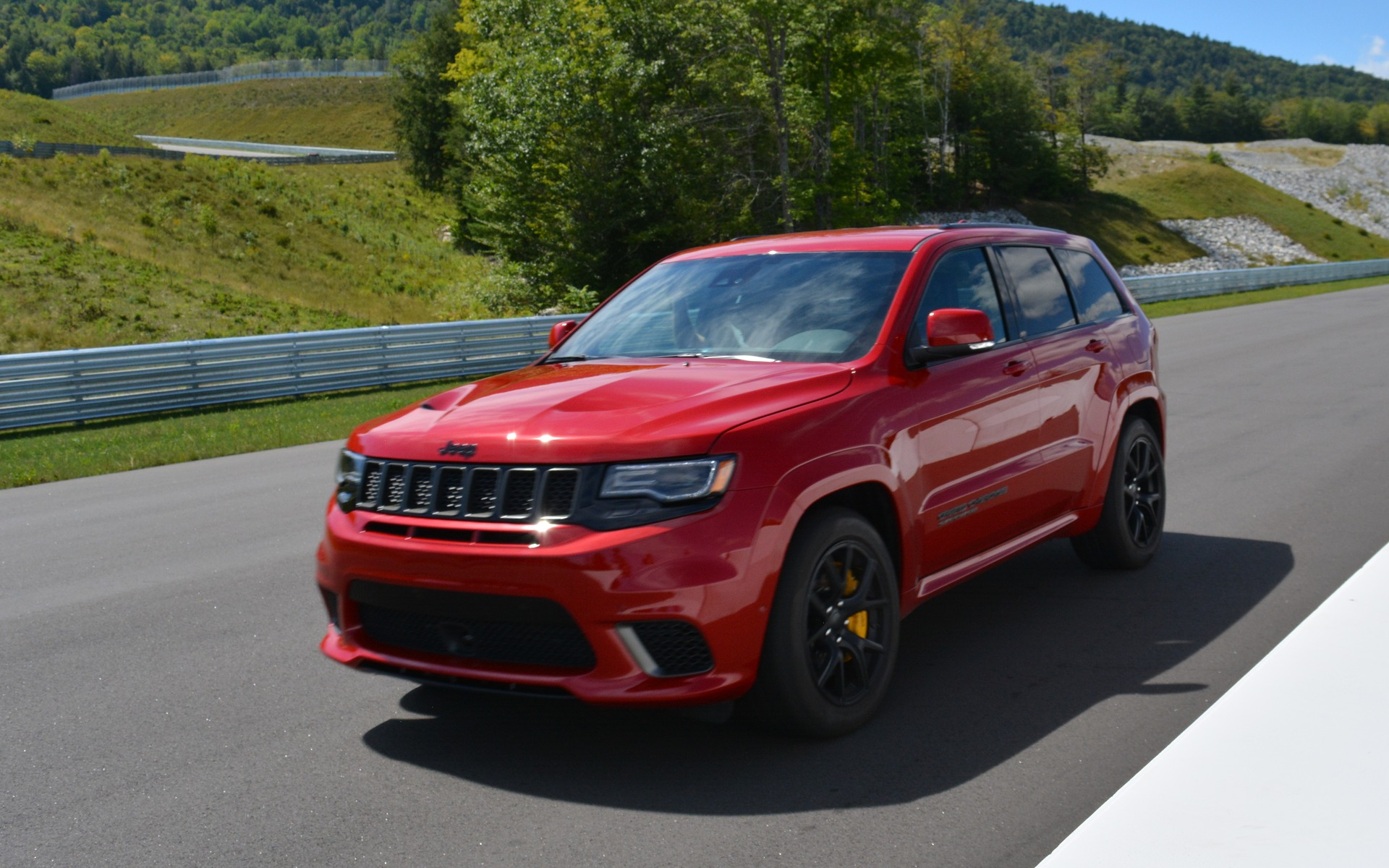 2018 Jeep Grand Cherokee Trackhawk Daily Hellraiser The Car Guide