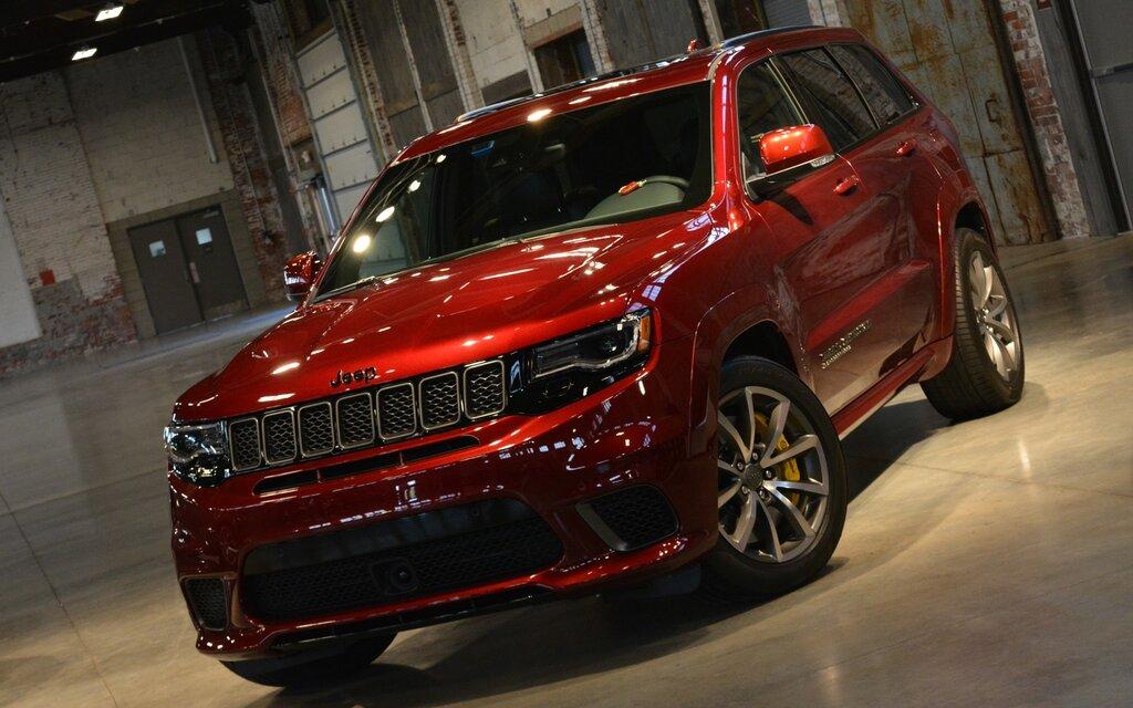 Jeep Grand Cherokee Trackhawk For Sale >> 2018 Jeep Grand Cherokee Trackhawk: Mad Mad Jeep World