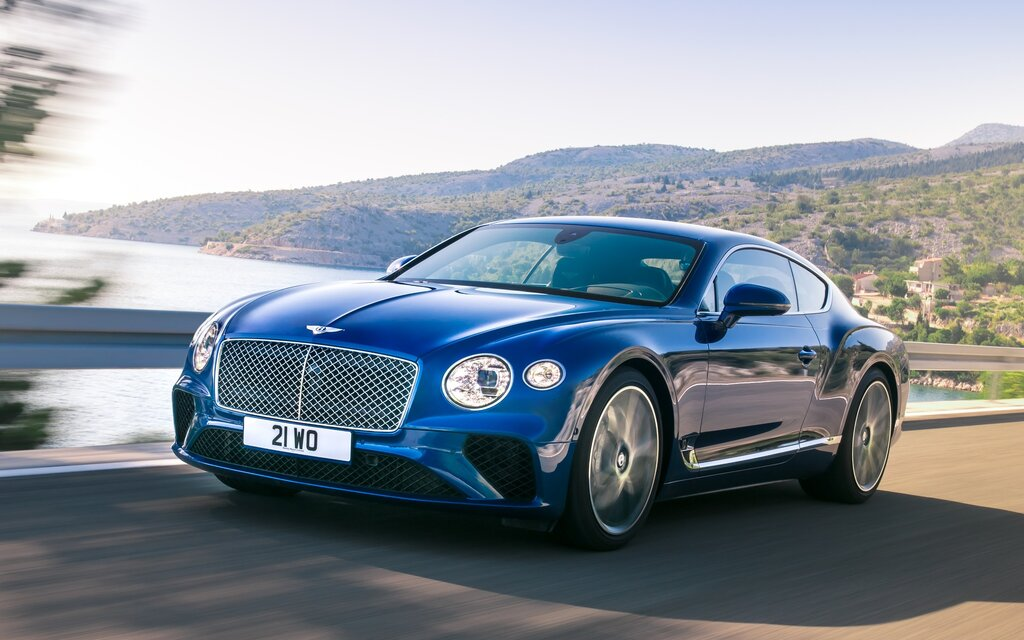 La Bentley Continental GT 2018 révélée - Guide Auto