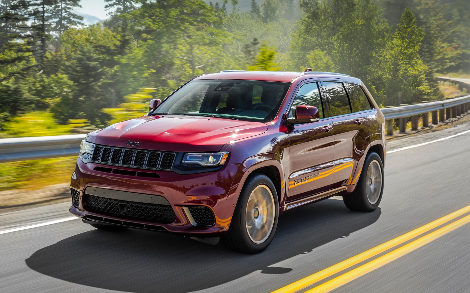 Jeep Trackhawk 2018 >> Le fougueux Jeep Grand Cherokee Trackhawk 2018 - 34/76