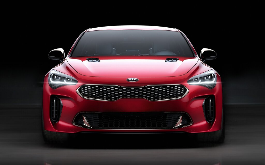 kia stinger 2018 disponible en pr vente quelques prix annonc s guide auto. Black Bedroom Furniture Sets. Home Design Ideas