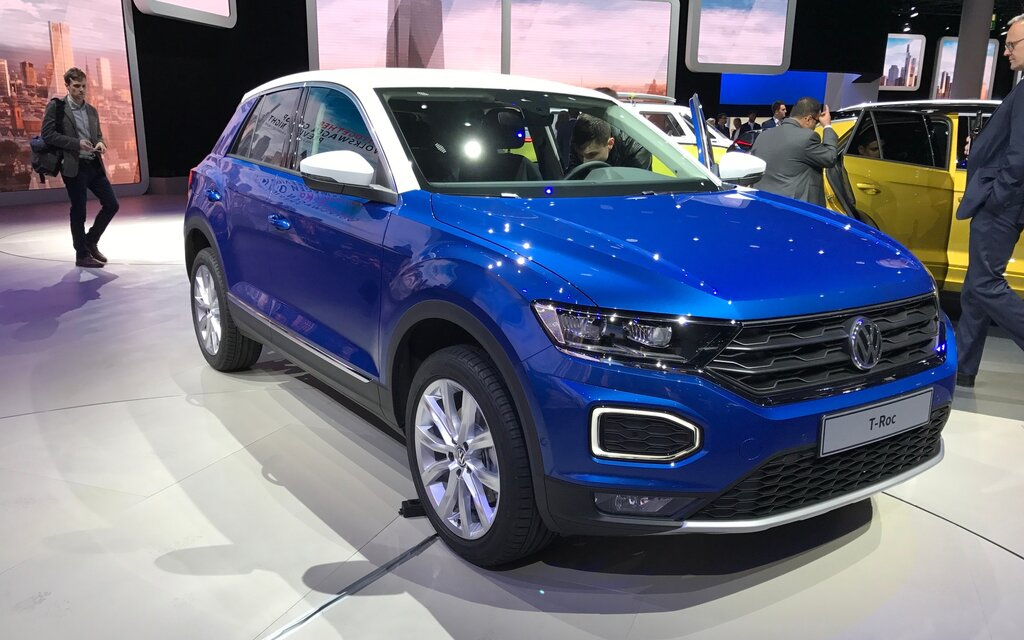 volkswagen t roc un nouveau joueur chez les vus sous compacts guide auto. Black Bedroom Furniture Sets. Home Design Ideas