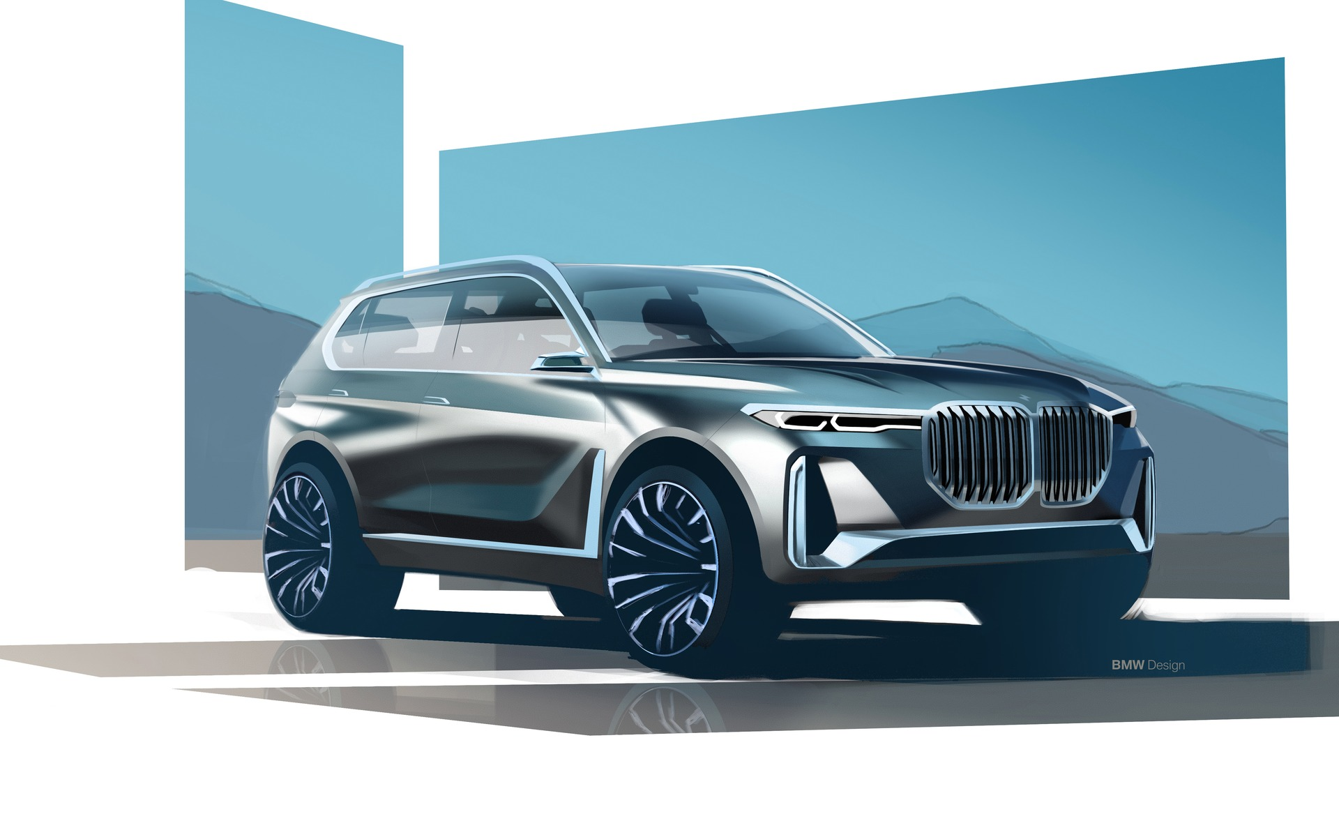 Bmw Concept X7 Iperformance A First Ever Suv From Bmw I