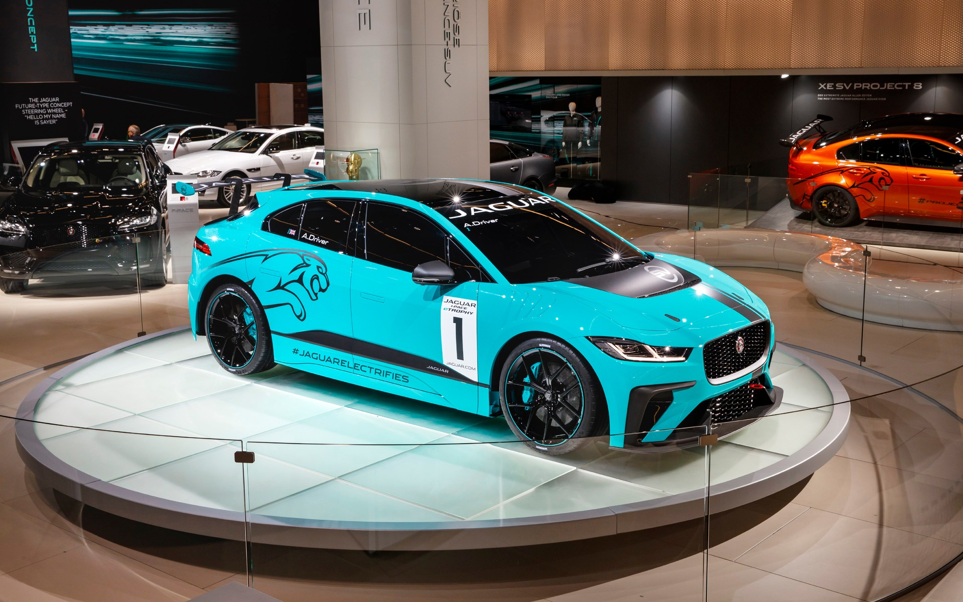 The Jaguar I-PACE eTROPHY