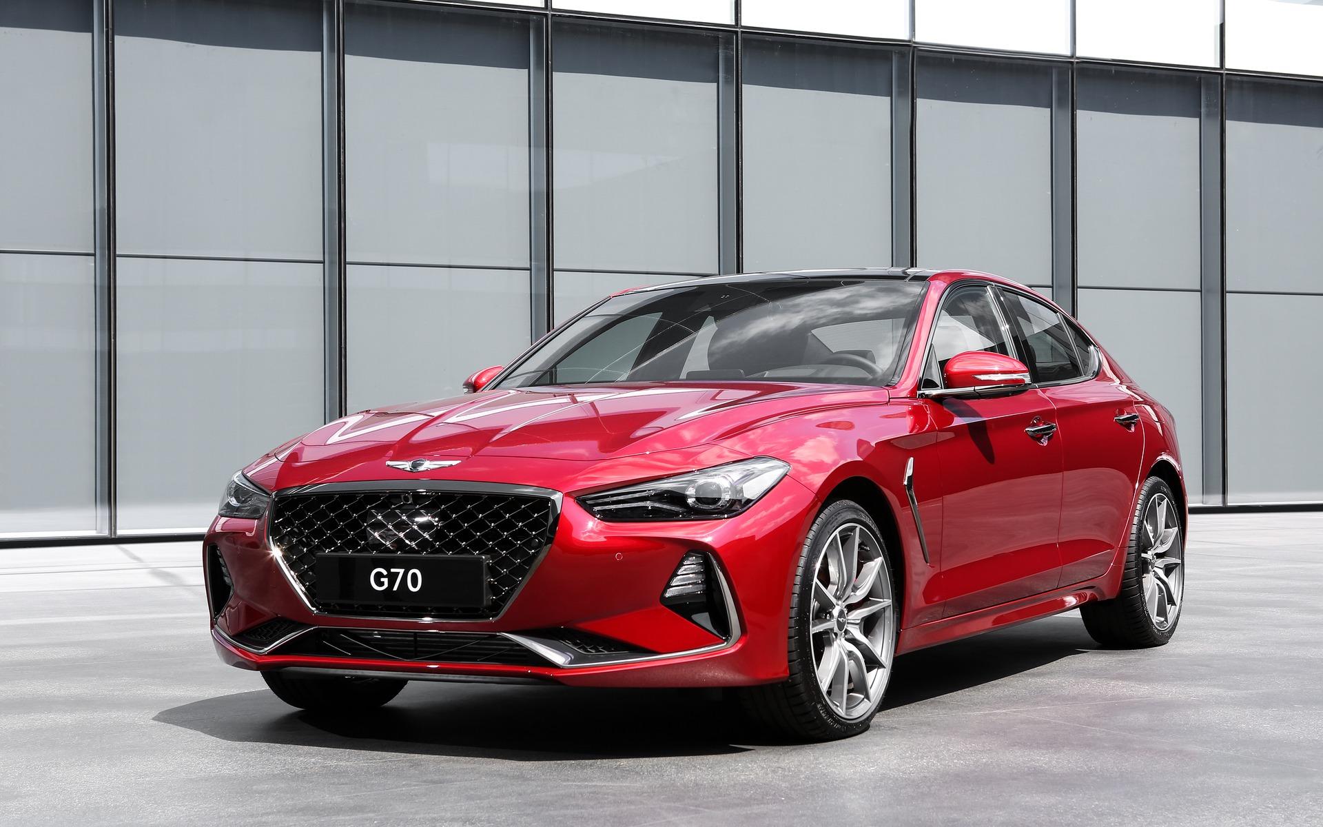Hyundai Genesis 2018 >> 2019 Genesis G70 Sedan Unveiled - 6/15