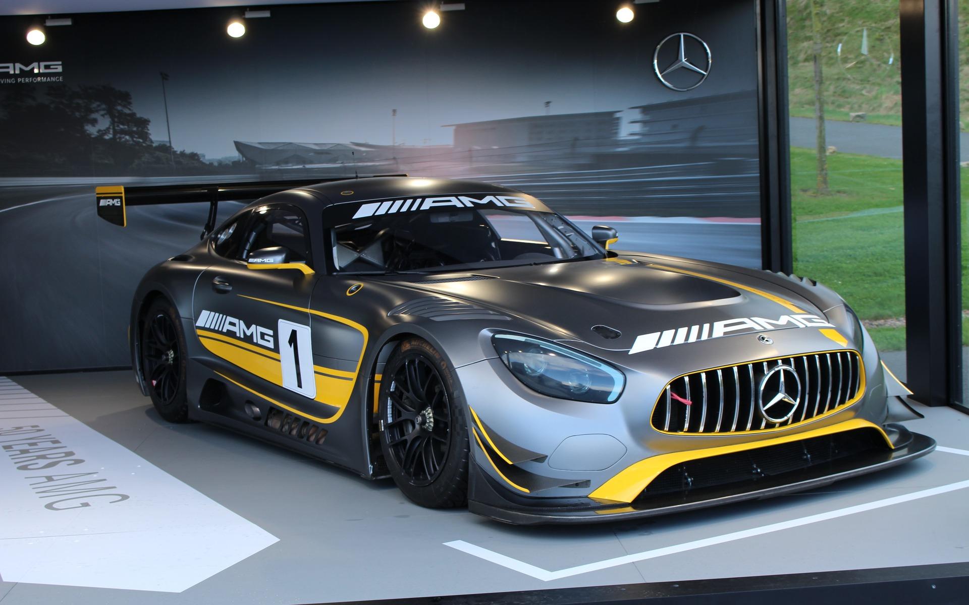 <p>Mercedes-AMG GT32018</p>