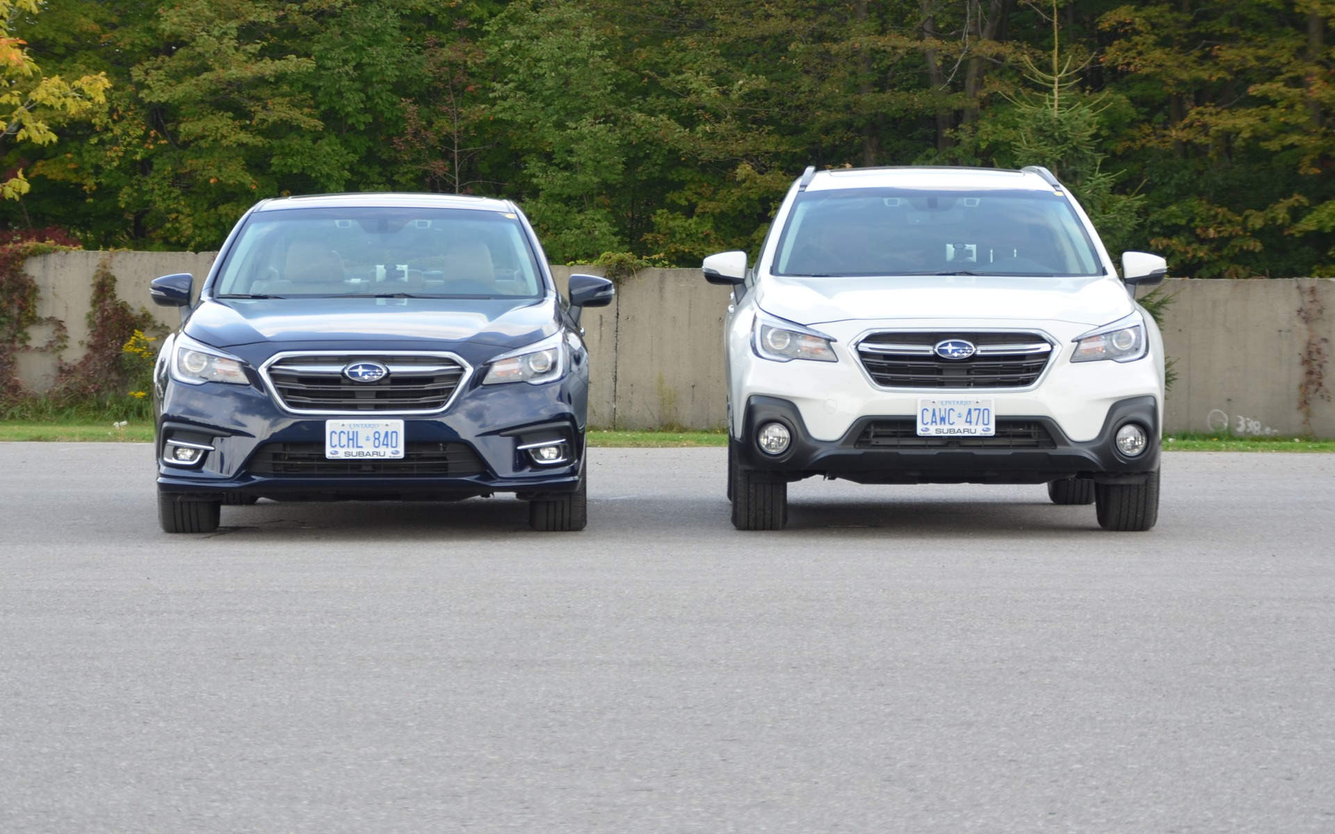 2018 Subaru Legacy and 2018 Subaru Outback