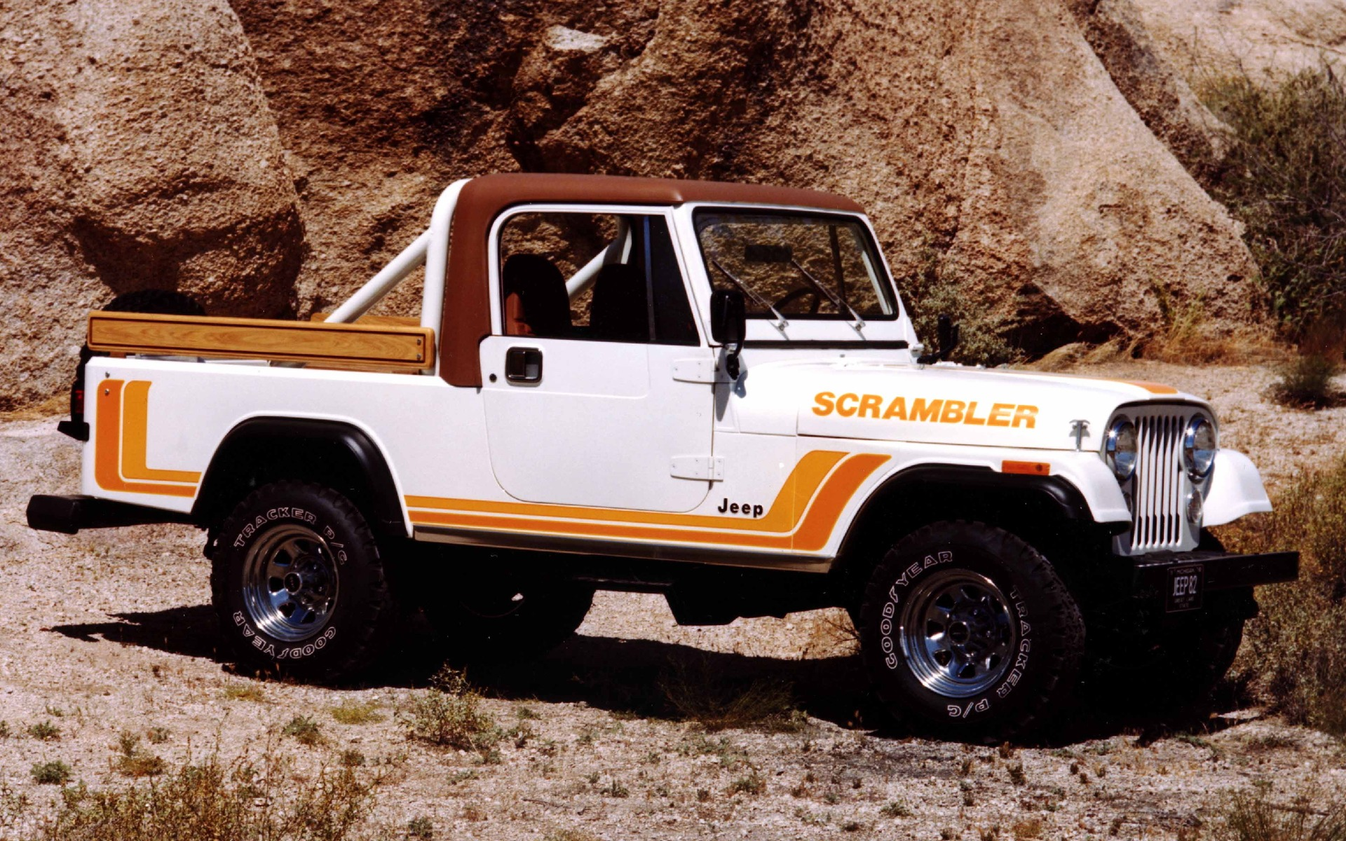 Jeep CJ-8 Scrambler 1982