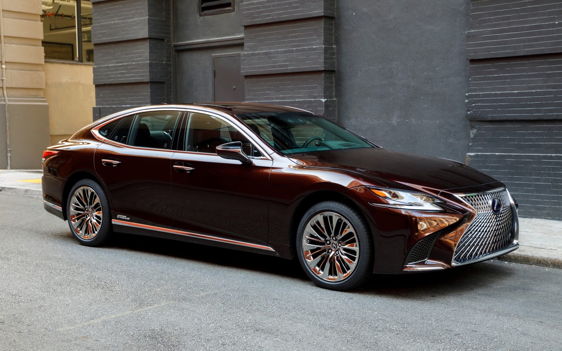 2018 Lexus Ls 500h And Ls 500 F Sport More Is Less The Car Guide