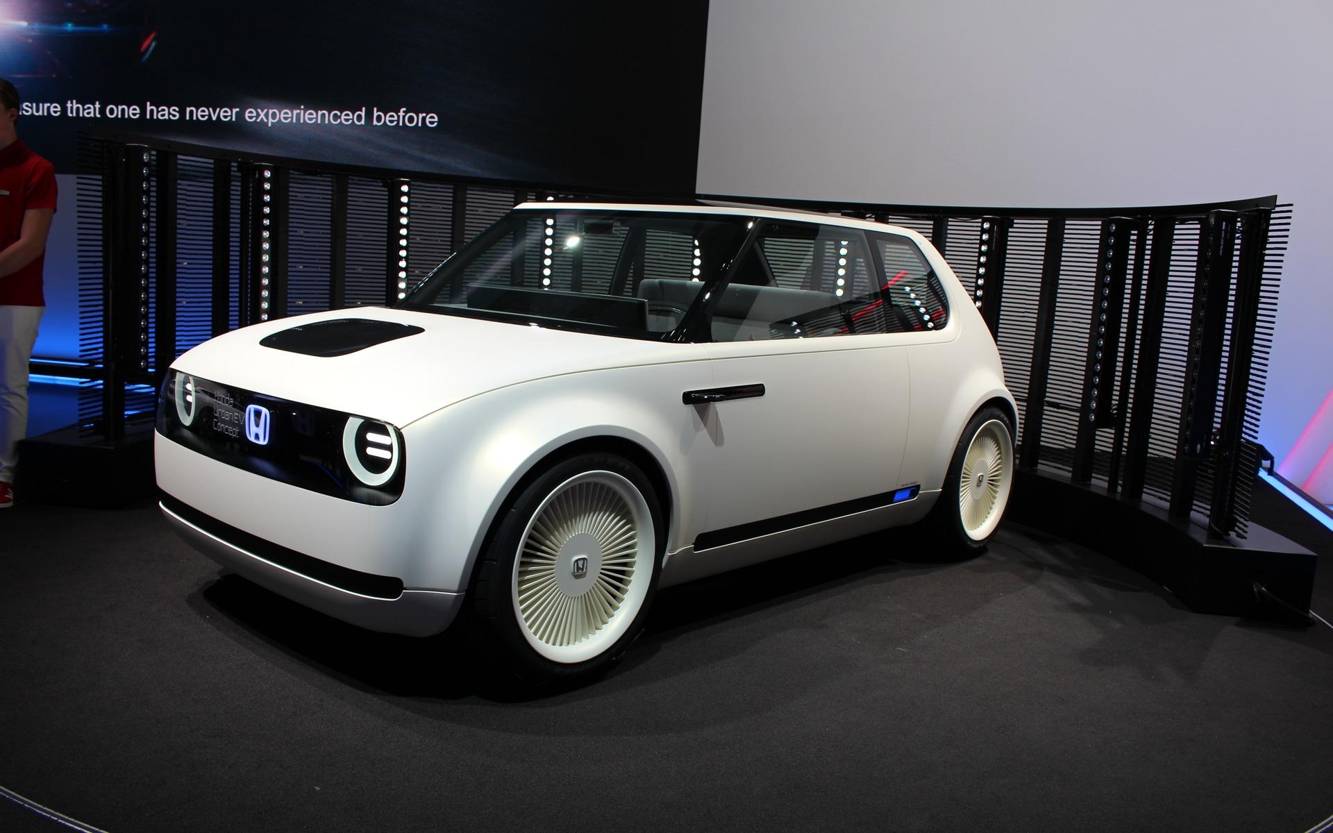 <p>Honda Urban EV Concept</p>