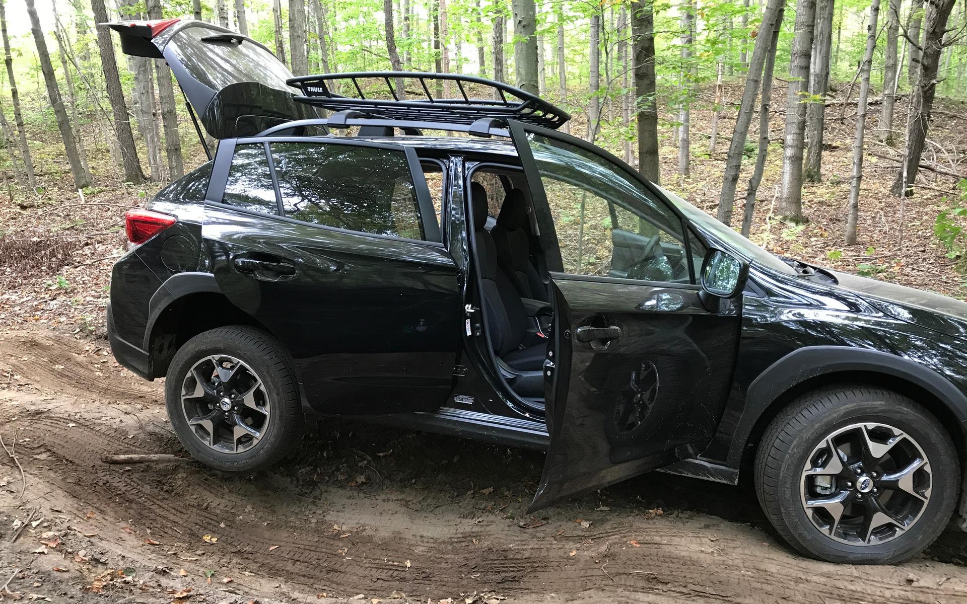 Subaru Crosstrek Off Road >> 2018 Subaru Outback Forester And Crosstrek Off Road On Point 5 10