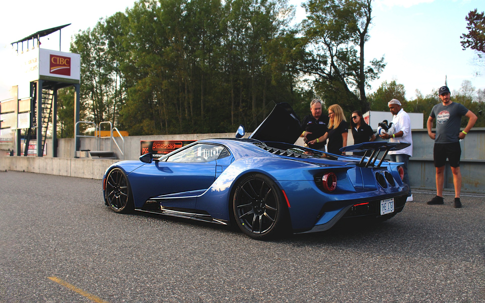 Ford Gt  Made In Canada