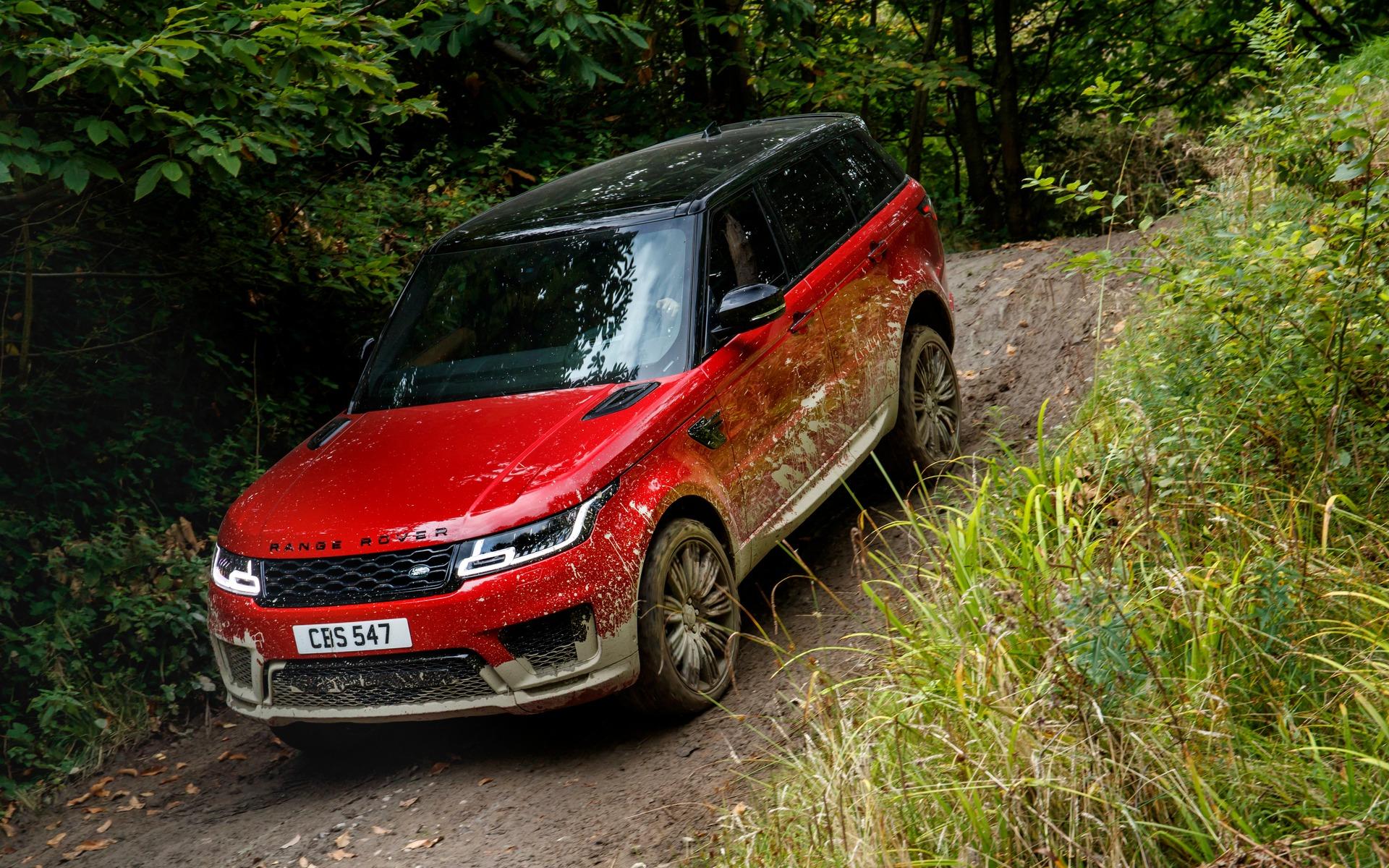 <p>2018 Range Rover Sport</p>