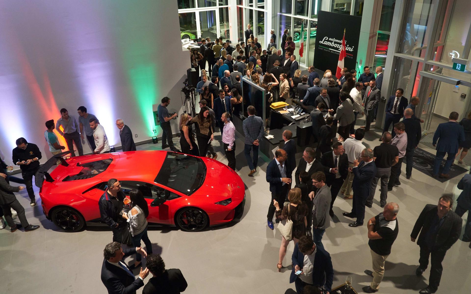 <p>Lamborghini Uptown in Vaughan.</p>