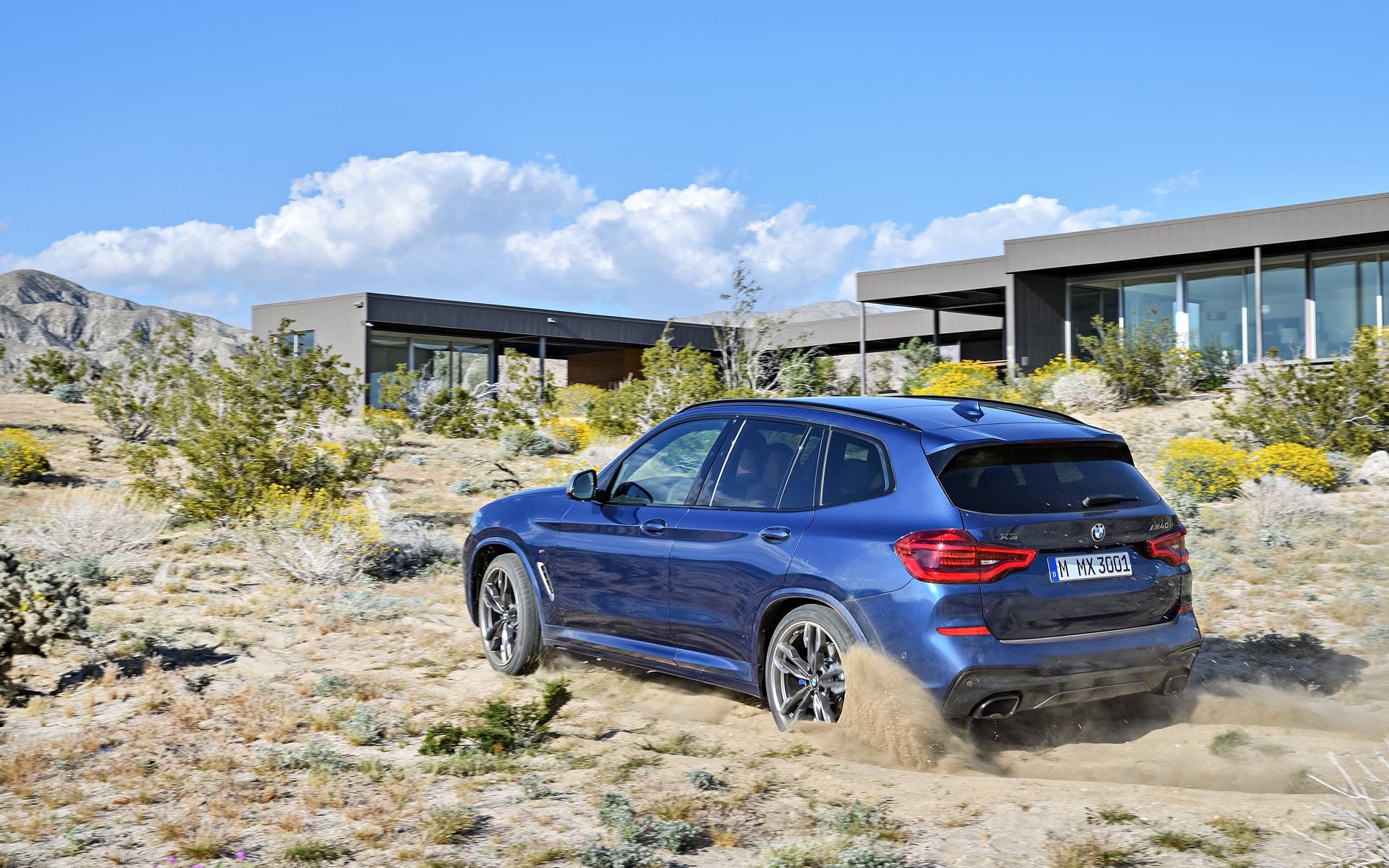 <p>BMW X3&nbsp;2018</p>