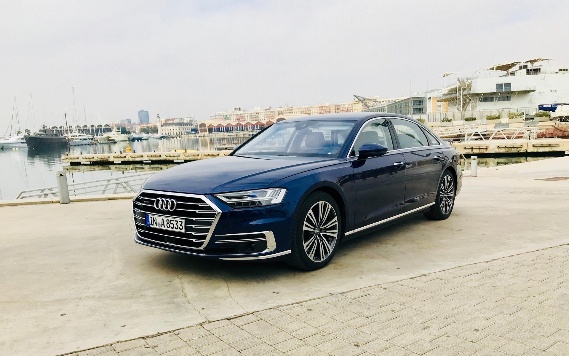 <p>Audi A82019 - Un look épuré et plutôt conservateur.</p>