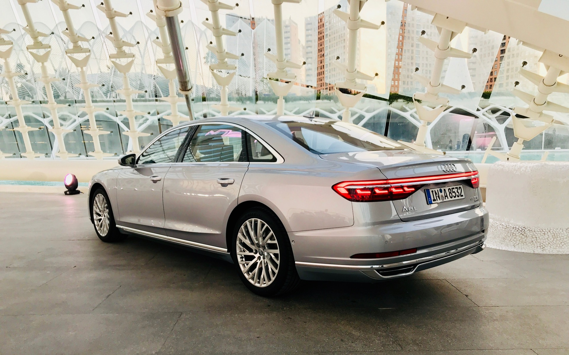 2019 Audi A8 The Uber Techno Flagship Sedan 25 36