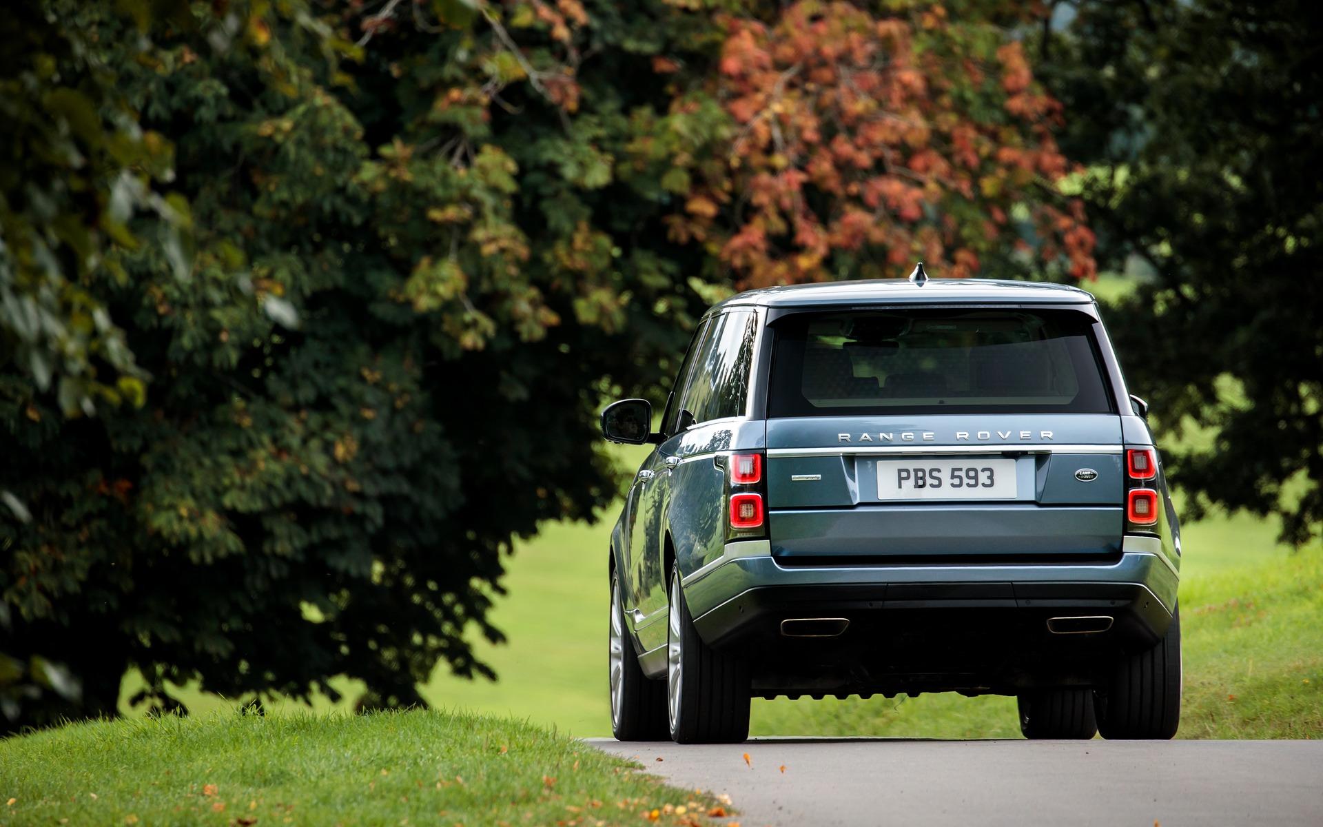 <p>2018 Range Rover</p>