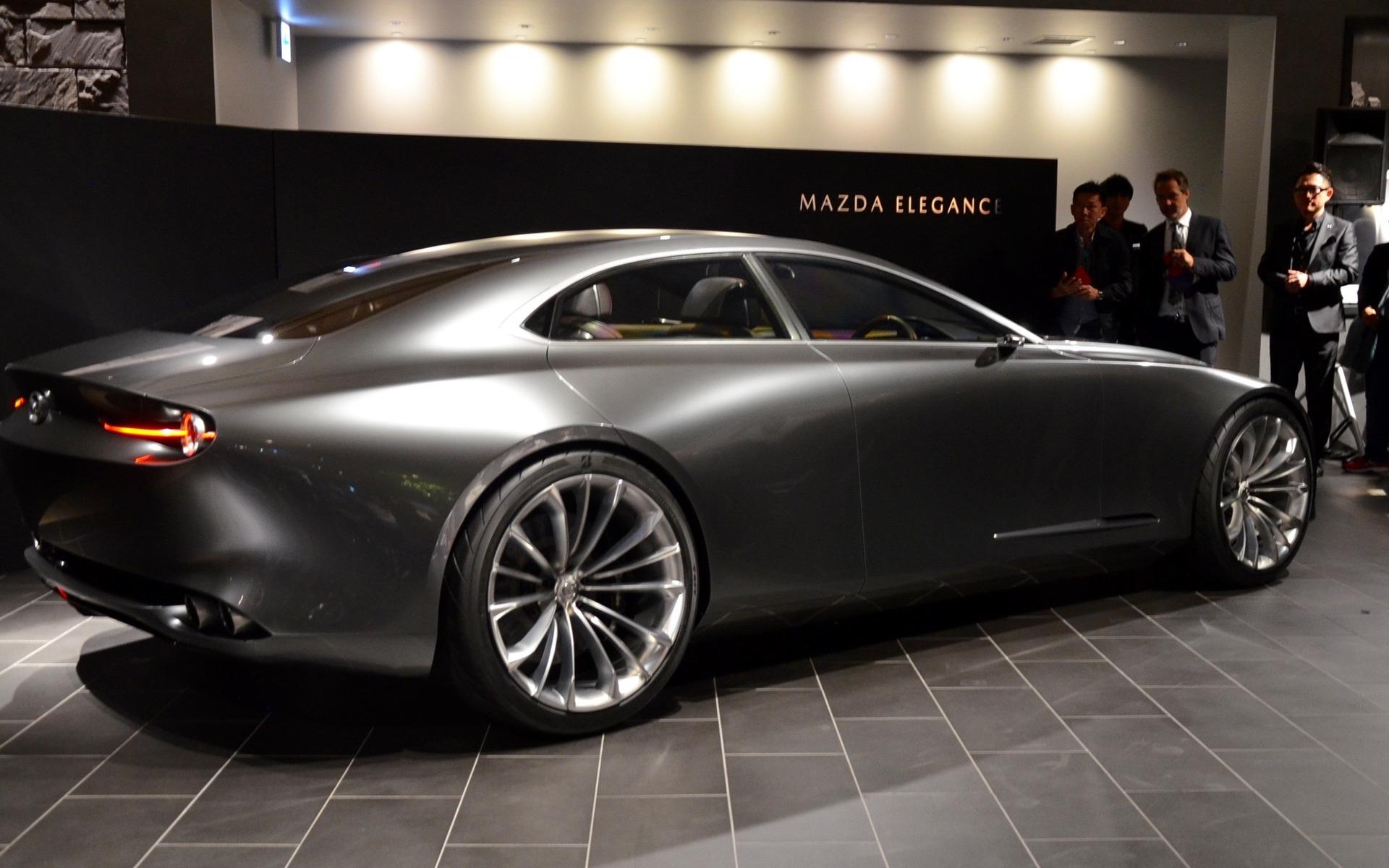 mazda vision coupe a new vision of elegance 2 13. Black Bedroom Furniture Sets. Home Design Ideas