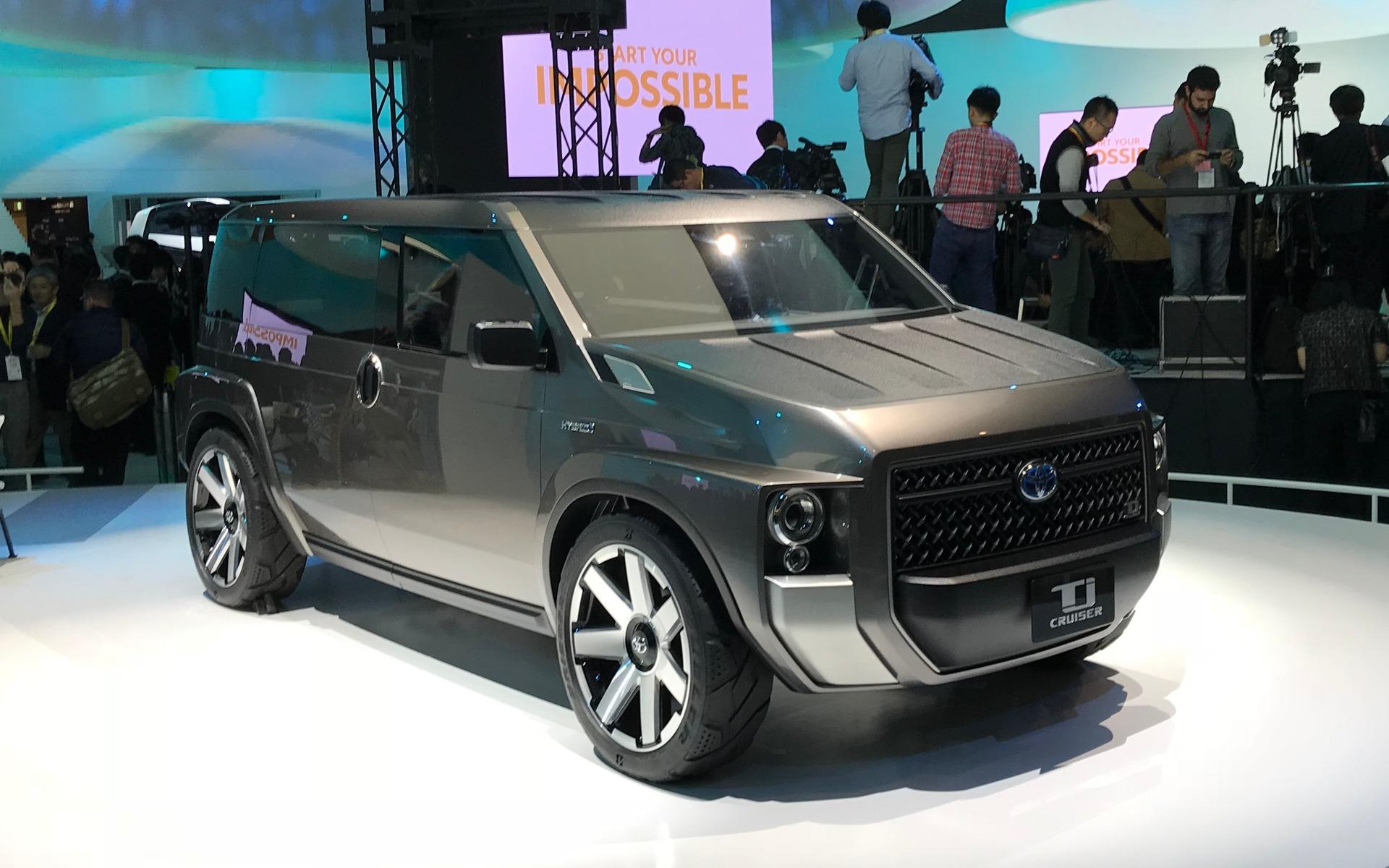 Le Toyota TJ Cruiser Concept