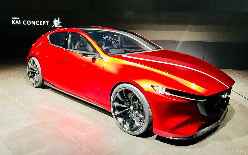 mazda kai concept the next mazda3 sport the car guide. Black Bedroom Furniture Sets. Home Design Ideas