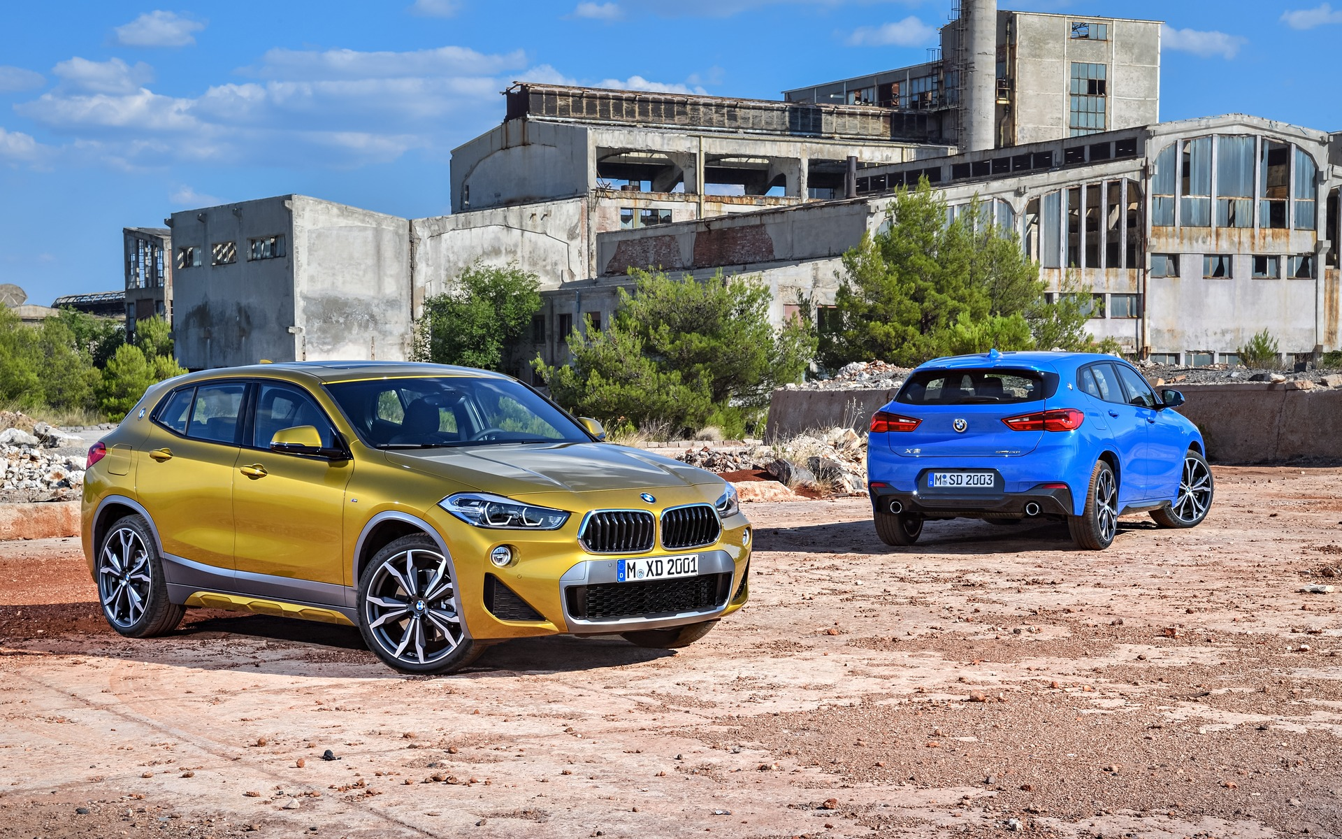 2018 bmw x2 officially unveiled the car guide. Black Bedroom Furniture Sets. Home Design Ideas