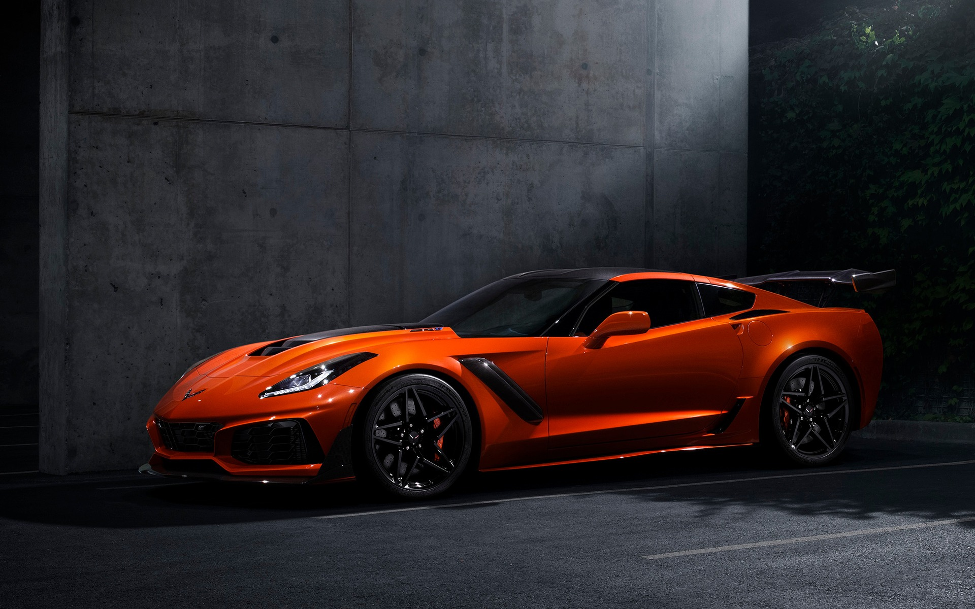 chevrolet corvette zr1 2019 la b te renait guide auto. Black Bedroom Furniture Sets. Home Design Ideas
