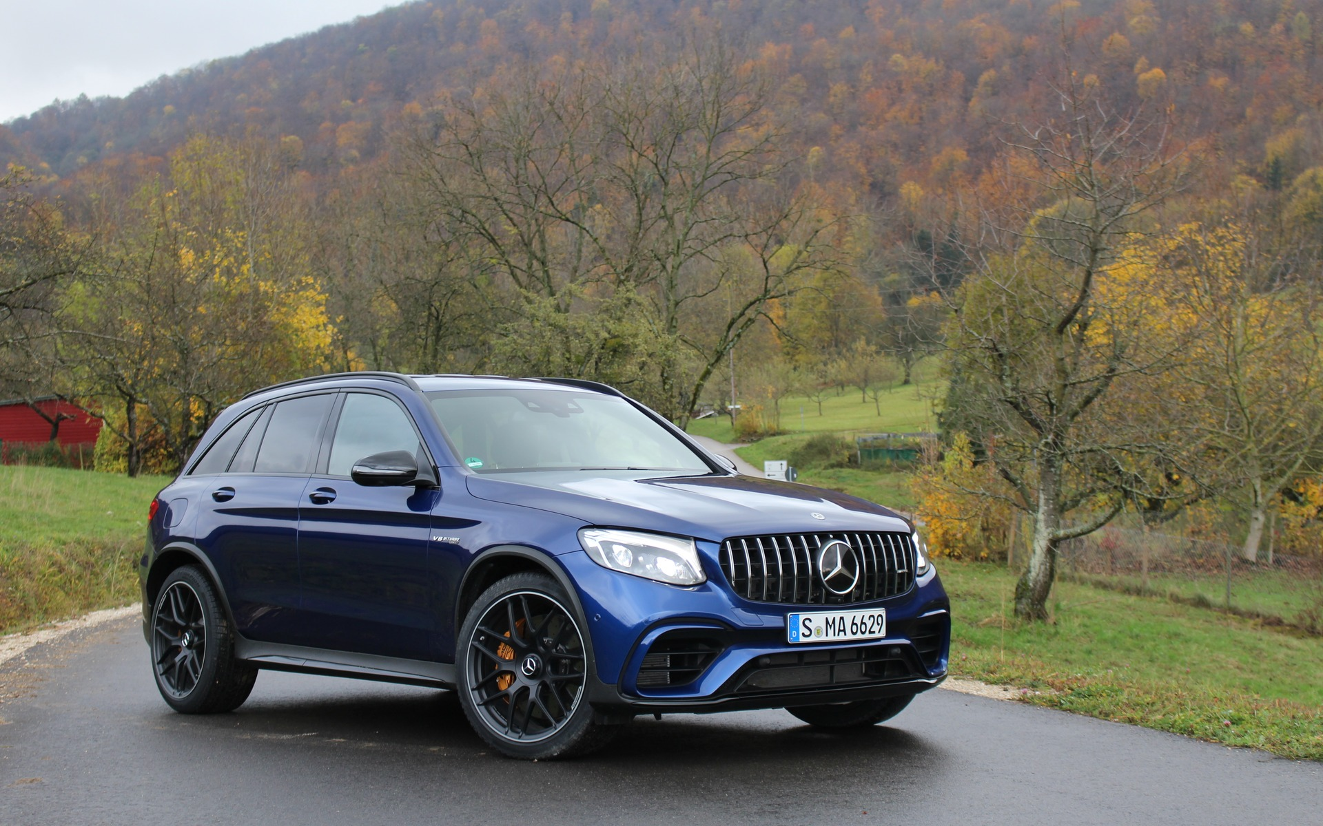 2018 Mercedes Amg Glc 63 S 4matic The Family Missile The Car Guide