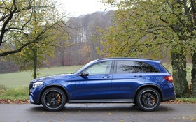 2018 mercedes-amg glc 63 s 4matic+: the family missile - the car guide