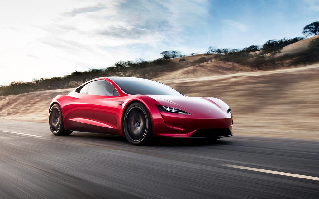 tesla roadster 0 100 km h en deux secondes 1 000 km d 39 autonomie guide auto. Black Bedroom Furniture Sets. Home Design Ideas