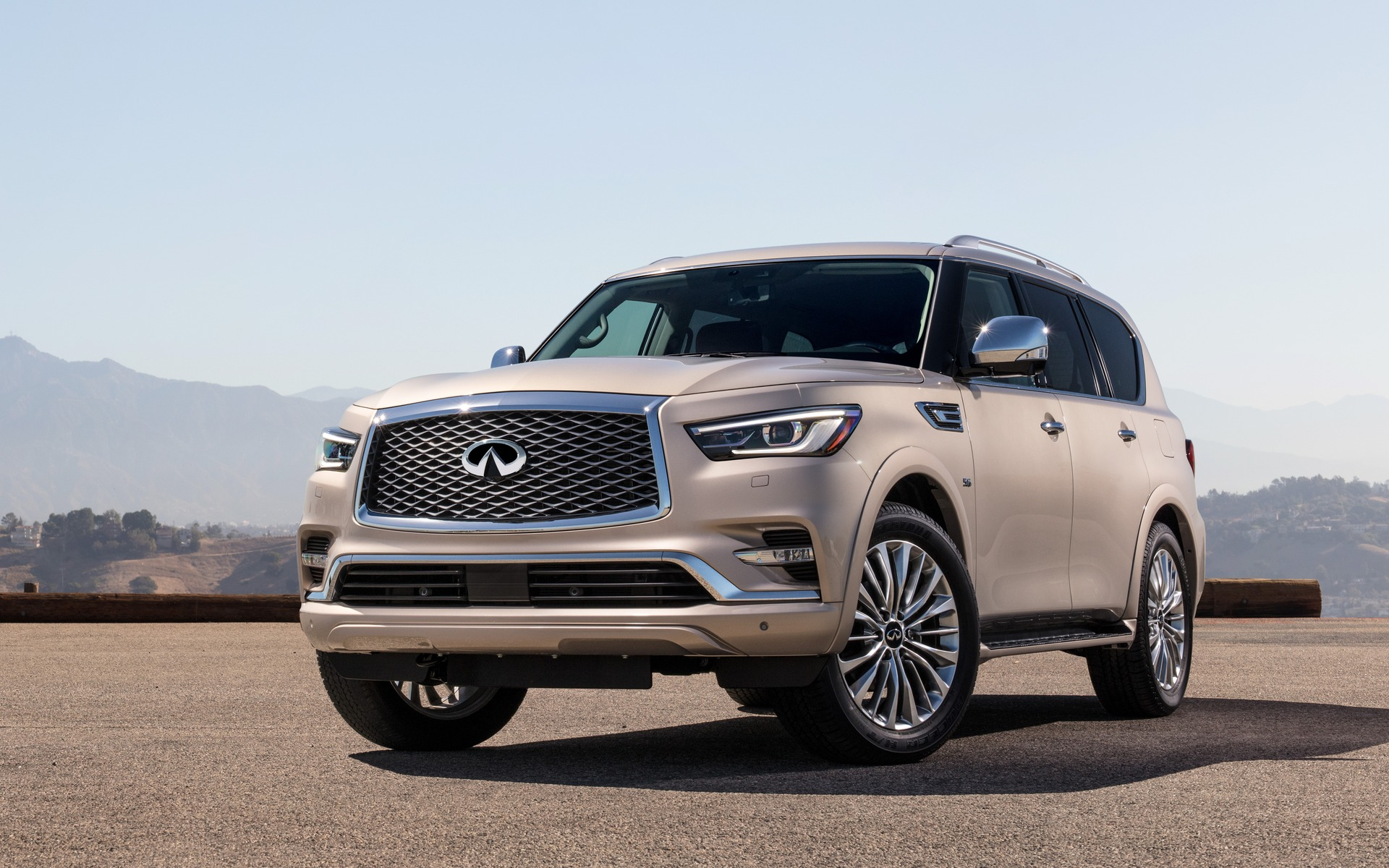 Infiniti QX To Be Presented At The Los Angeles Auto Show - Los angeles car show 2018