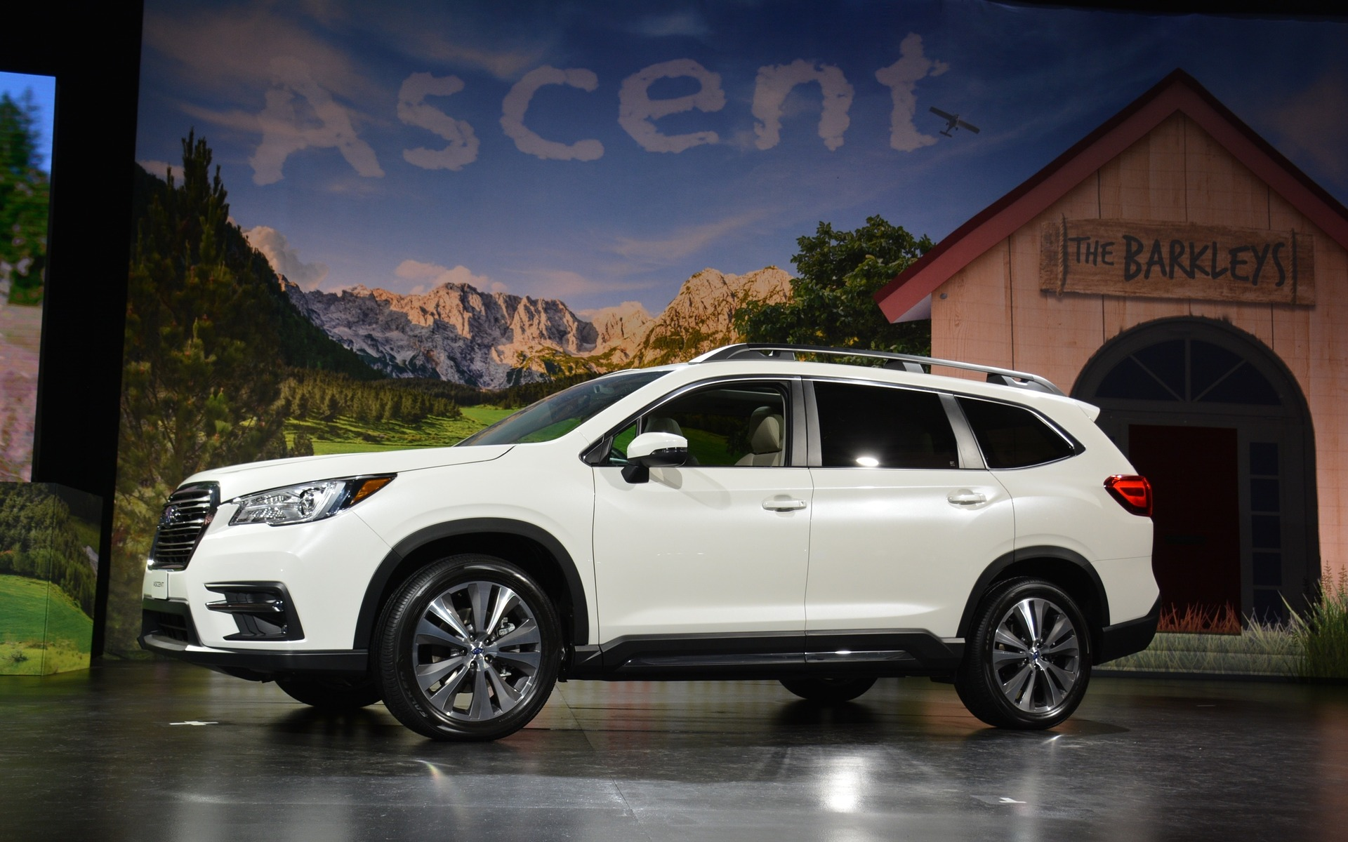 The all-new 2019 Subaru Ascent SUV.