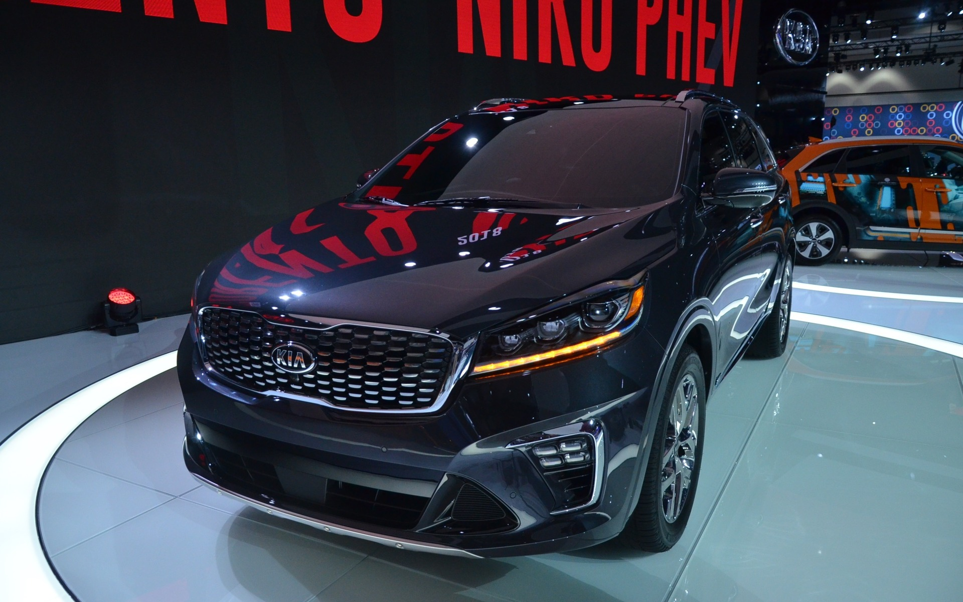 2019 kia sorento a facelift a revised cockpit and a for Kia motor finance physical payoff address