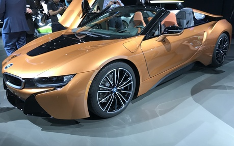 2019 Bmw I8 Roadster It S Here And It S Beautiful