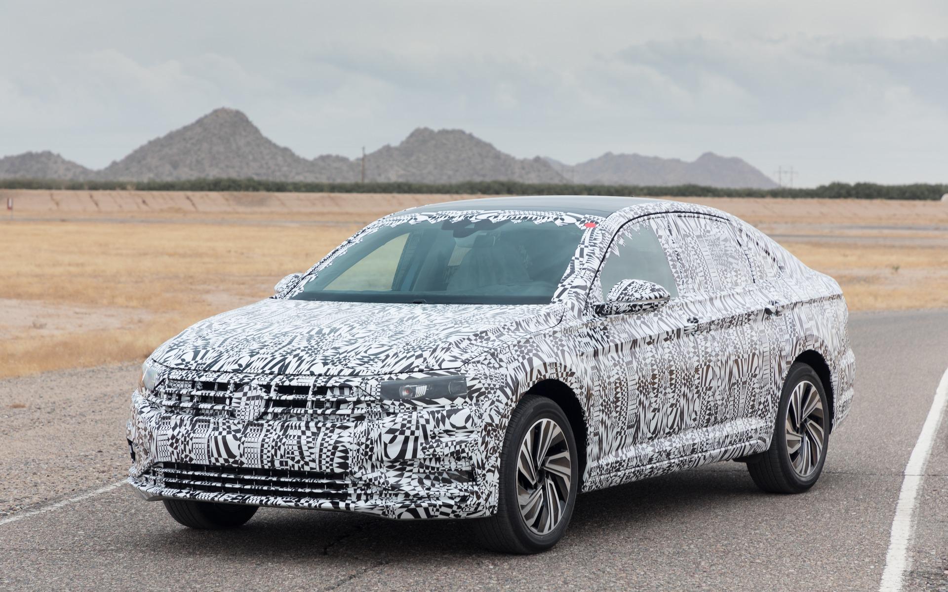 Camouflaged 2019 Volkswagen Jetta