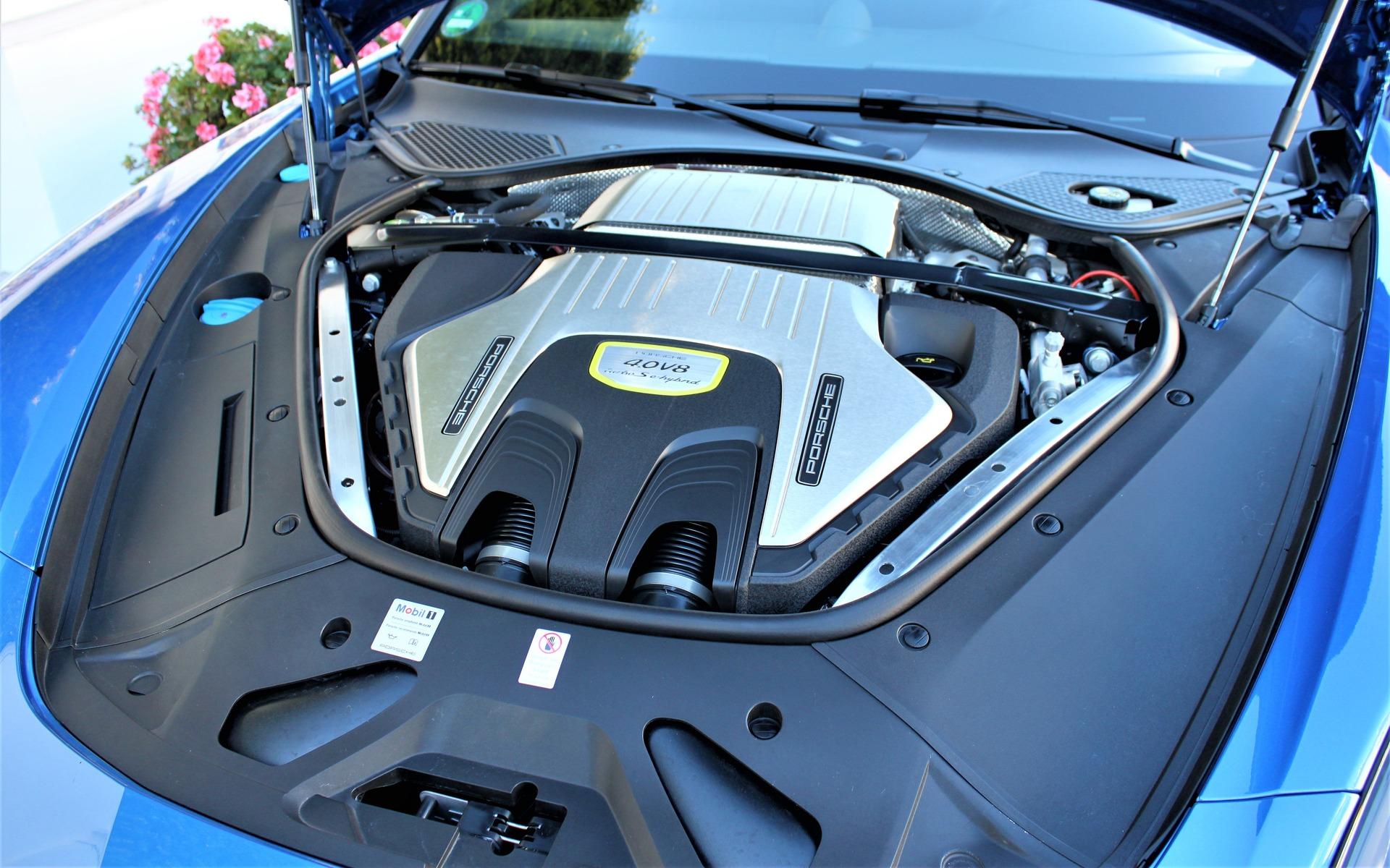 2018 Porsche Panamera Turbo S E Hybrid Sport Turismo Green Porsche Power 9 20